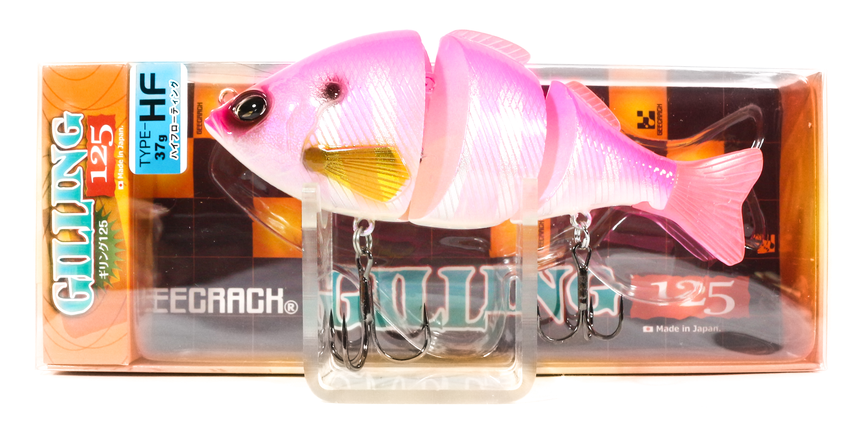 Sale Gee Crack Gilling 125 HF Jointed High Floating Lure 033 (8430)