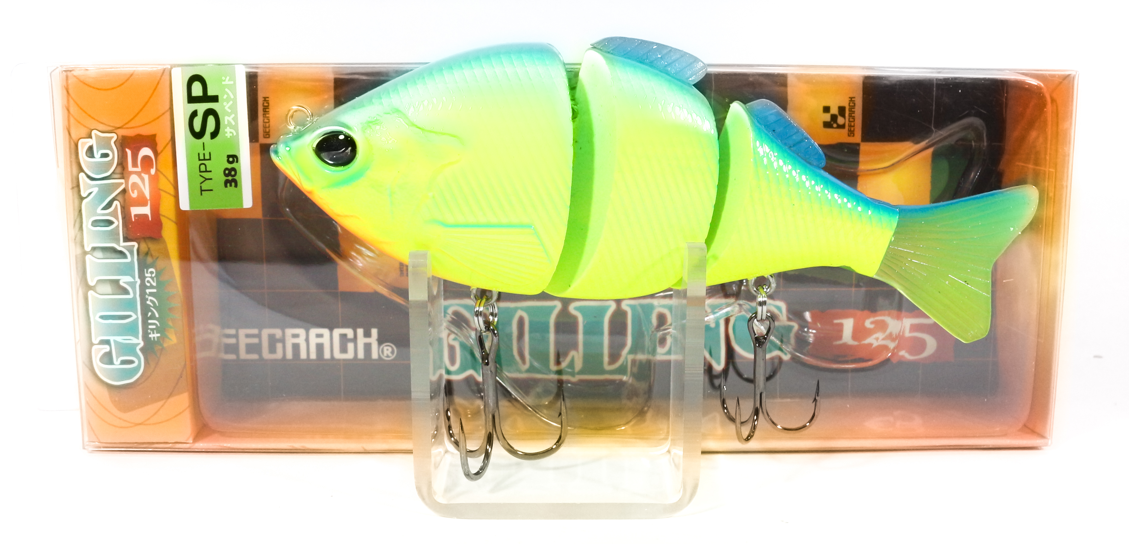 Sale Gee Crack Gilling 125 SP Jointed Suspend Lure 018 (5699)