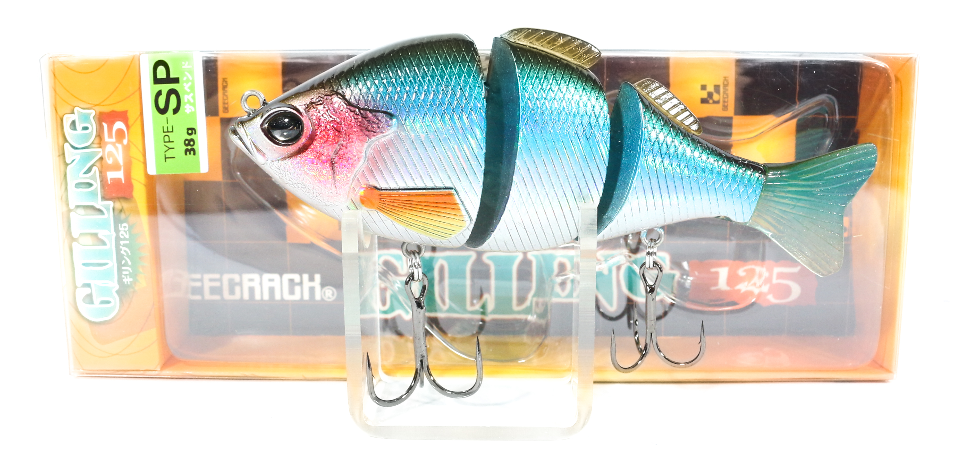 Sale Gee Crack Gilling 125 SP Jointed Suspend Lure 019 (6030)