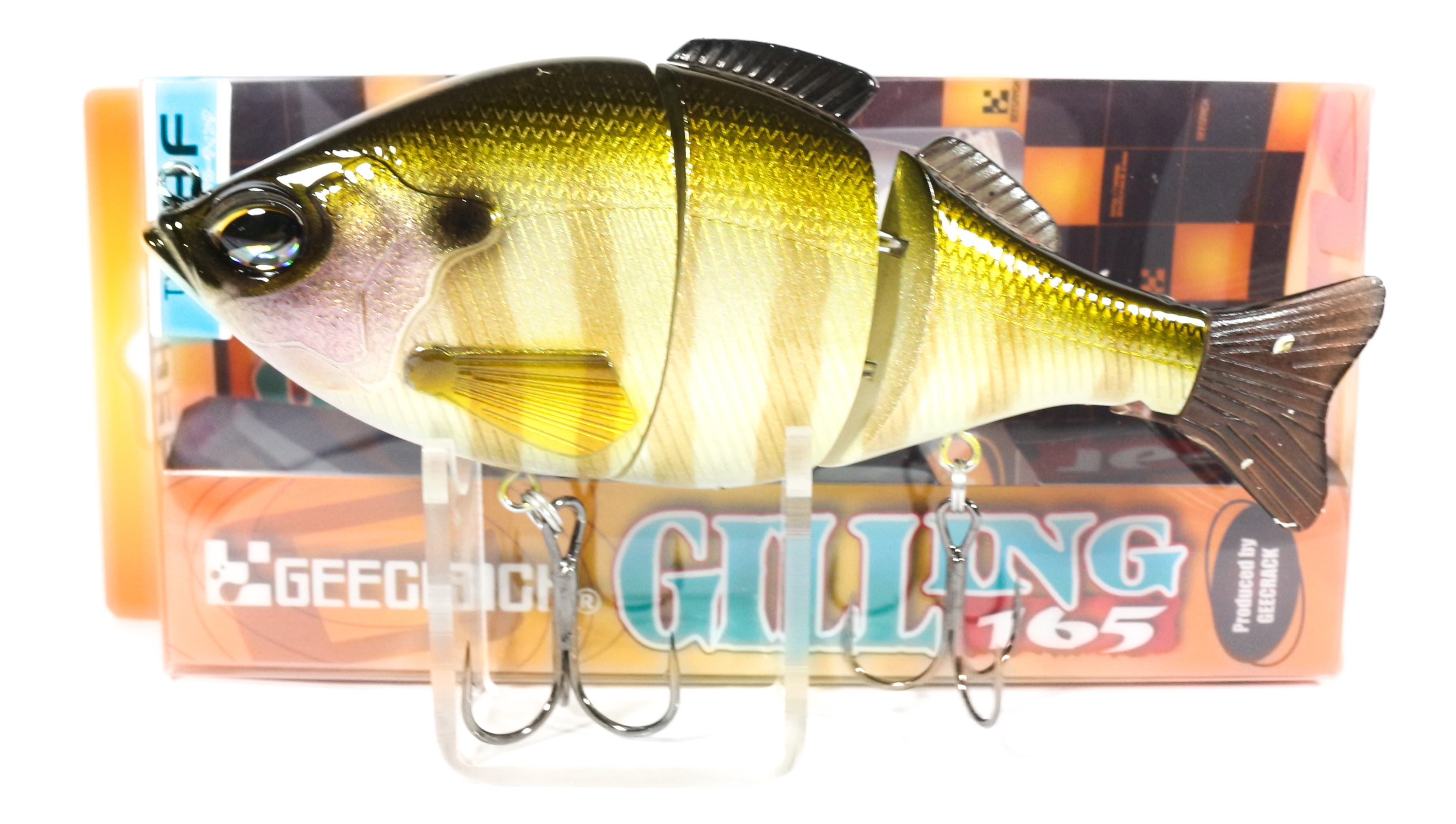 Sale Gee Crack Gilling 165 HF Jointed High Floating Lure 027 (8454)