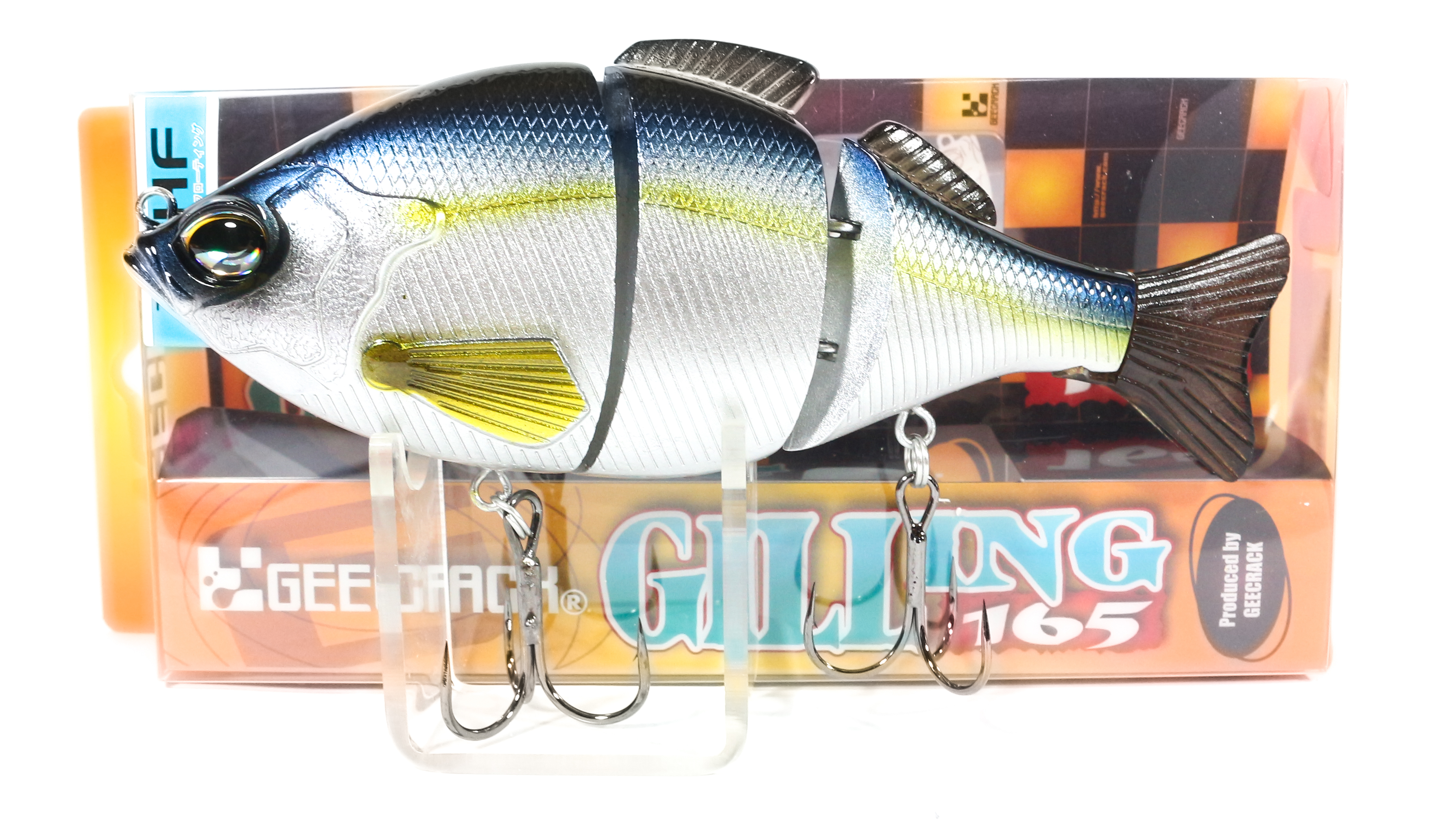 Sale Gee Crack Gilling 165 HF Jointed High Floating Lure 028 (8461)