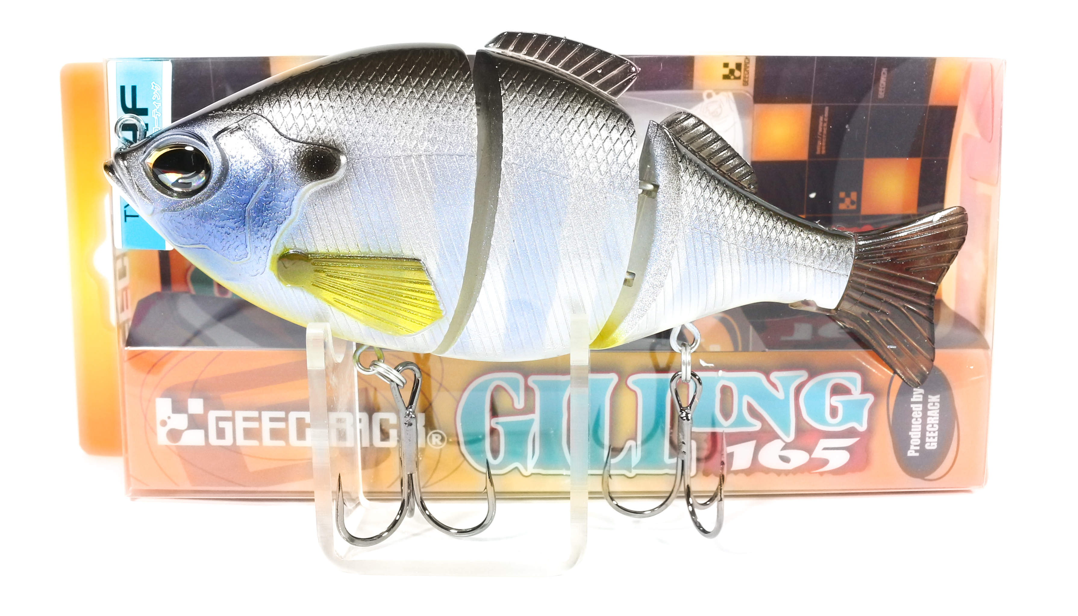 Sale Gee Crack Gilling 165 HF Jointed High Floating Lure 030 (8485)