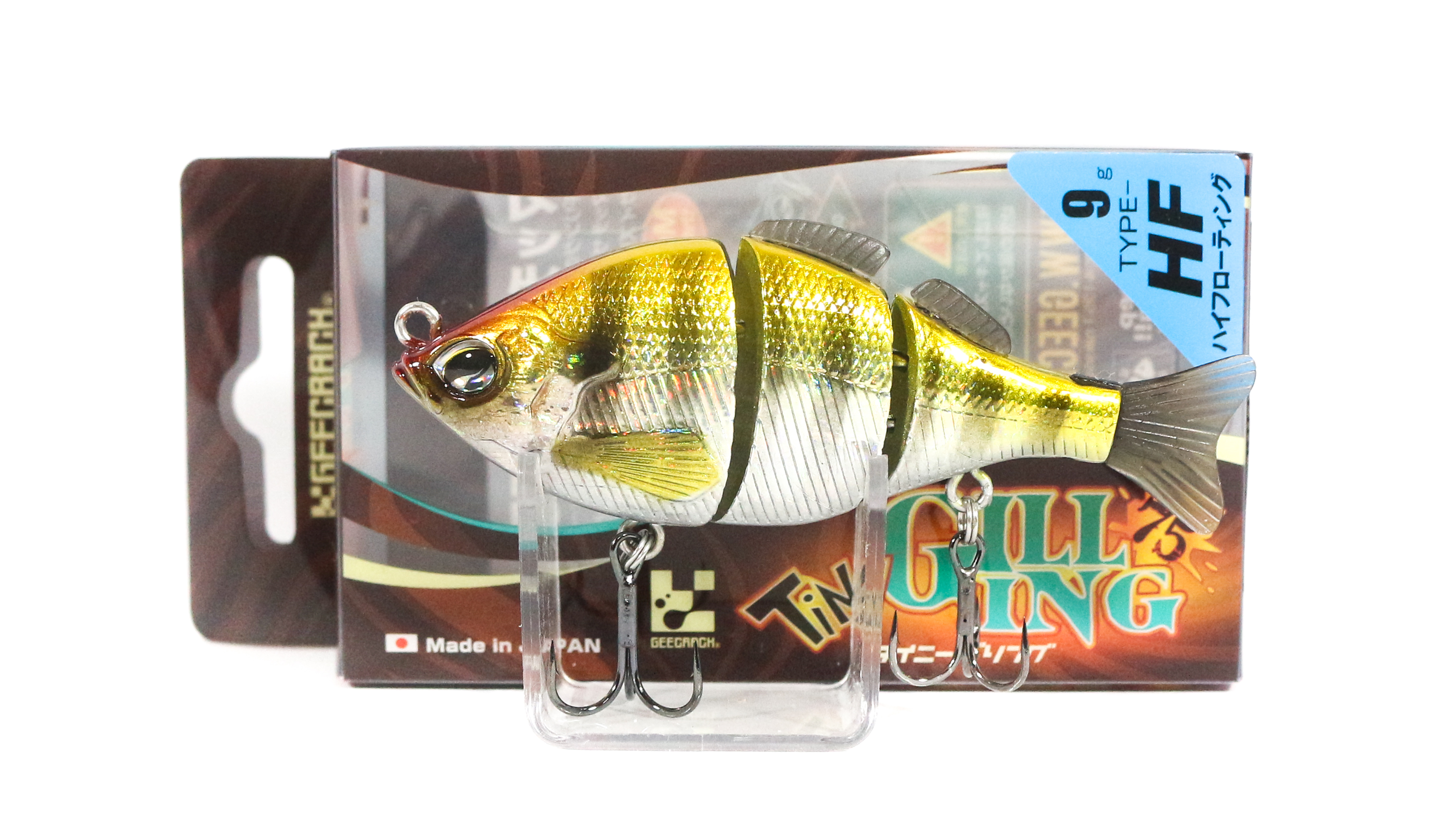 Sale Gee Crack Tiny Gilling 75HF Floating Lure 041 (5094)