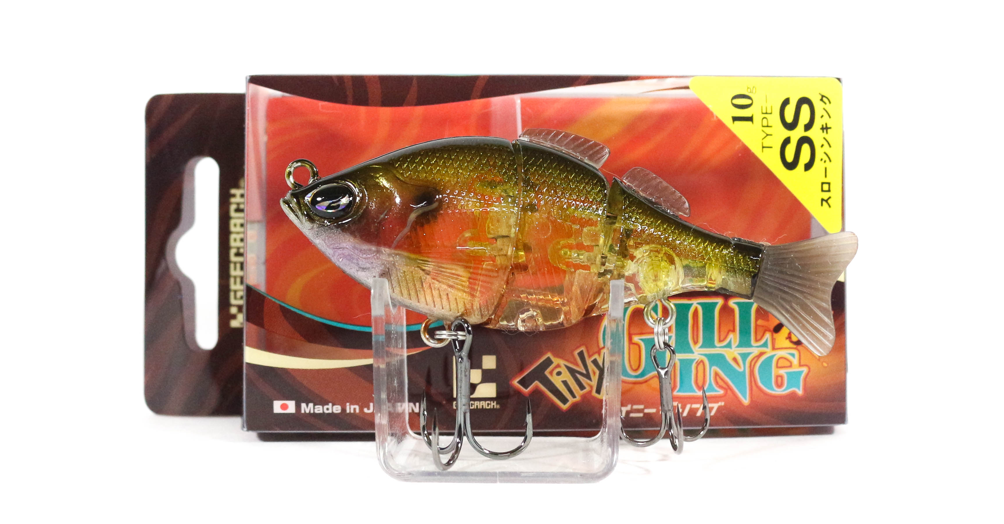 Sale Gee Crack Tiny Gilling 75SS Sinking Lure 009 (8096)