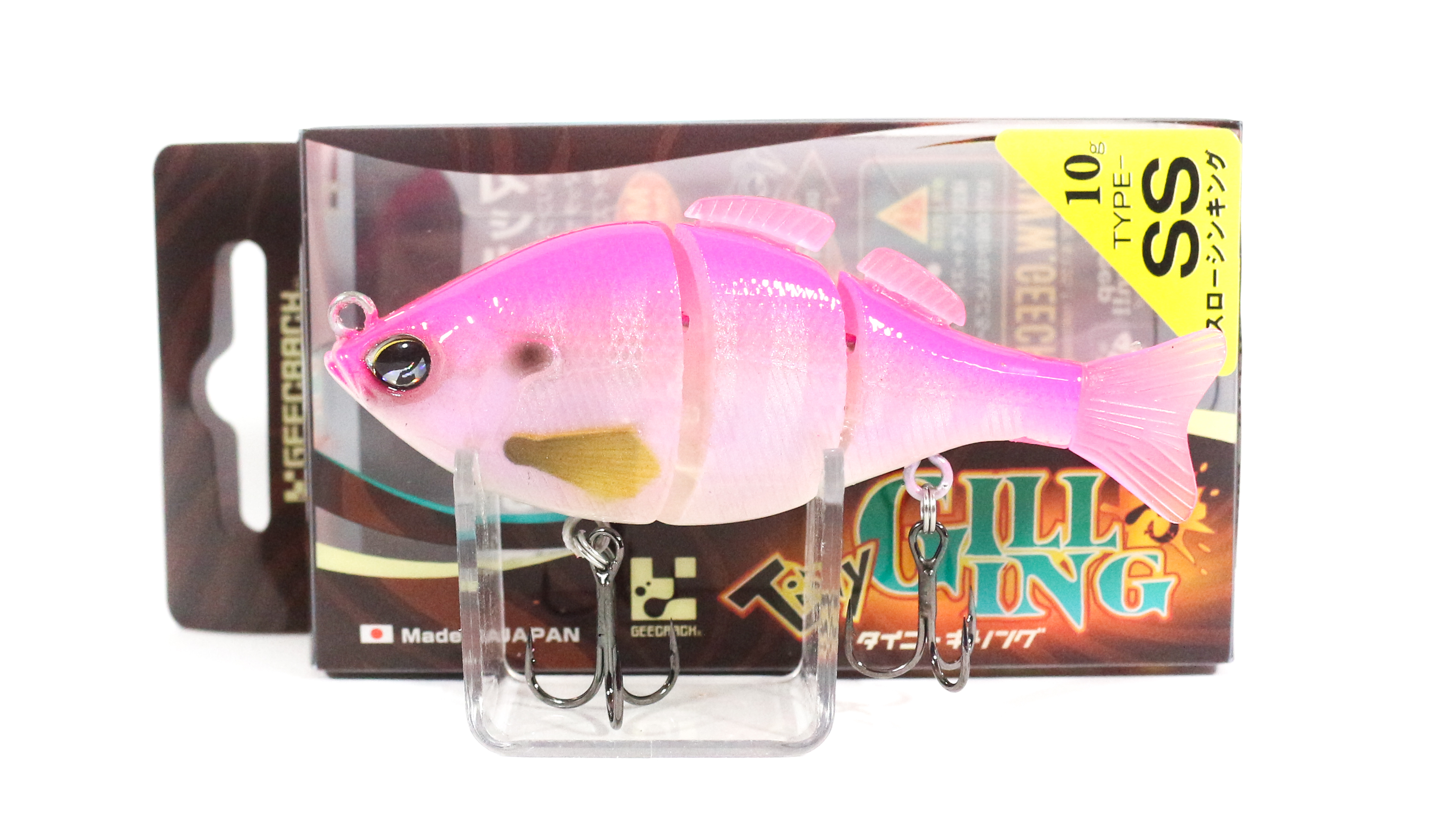 Sale Gee Crack Tiny Gilling 75SS Sinking Lure 033 (2215)