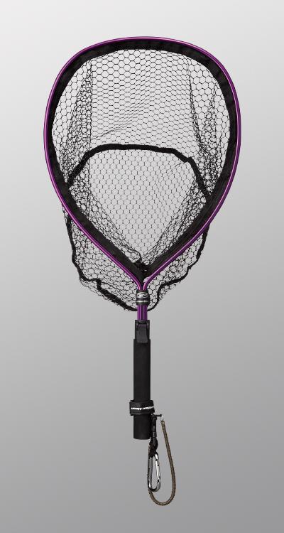 Golden Mean Capture Net IV Rubber Mesh 420 x 330 mm Purple (3913)
