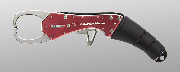 Golden Mean Grip Custom Fish Grip 185 mm 110 grams Red (4019)