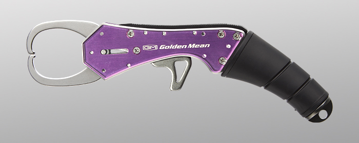 Golden Mean Grip Custom Fish Grip 185 mm 110 grams Purple (4026)