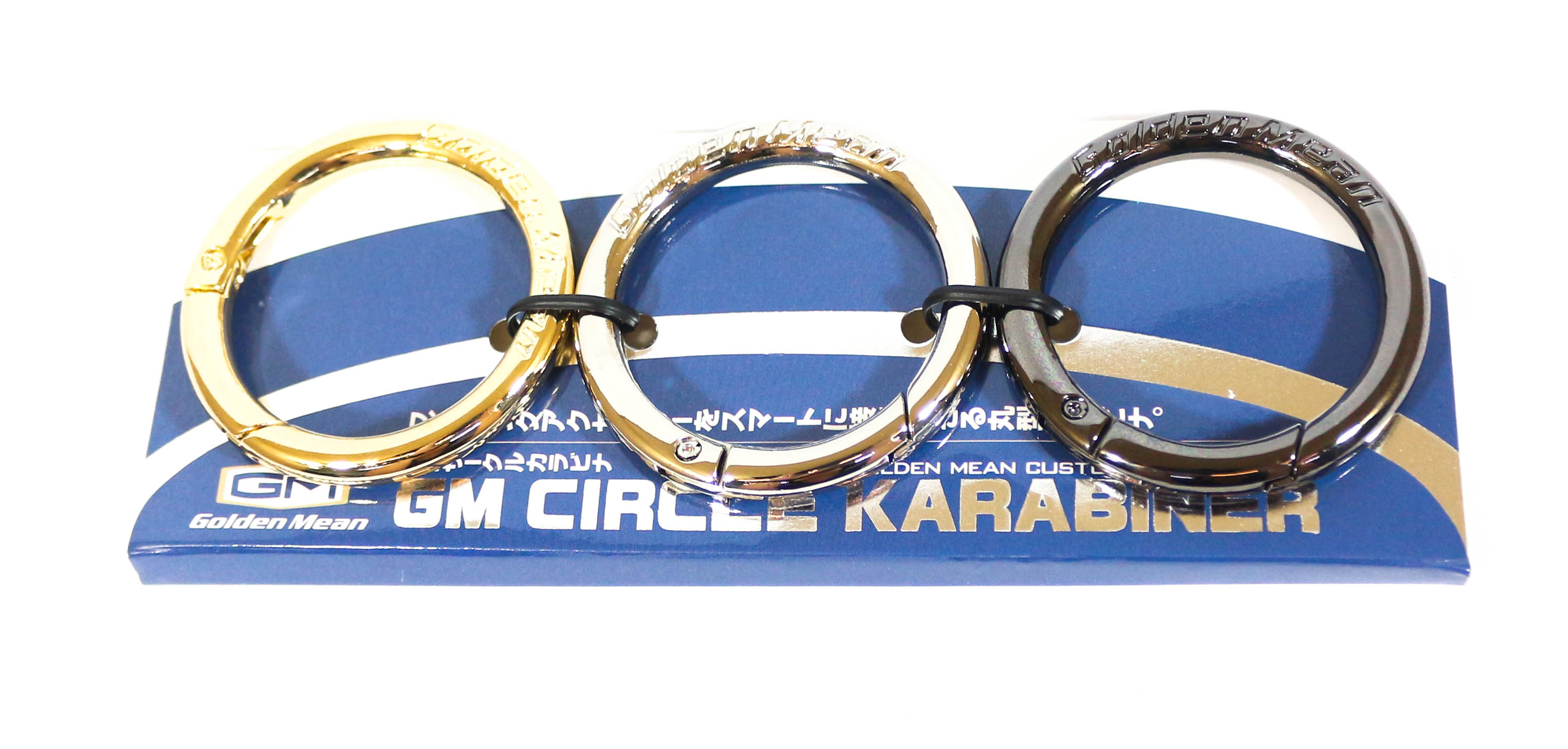 Golden Mean Karabiner Circle 50mm Set of 3 (5610)