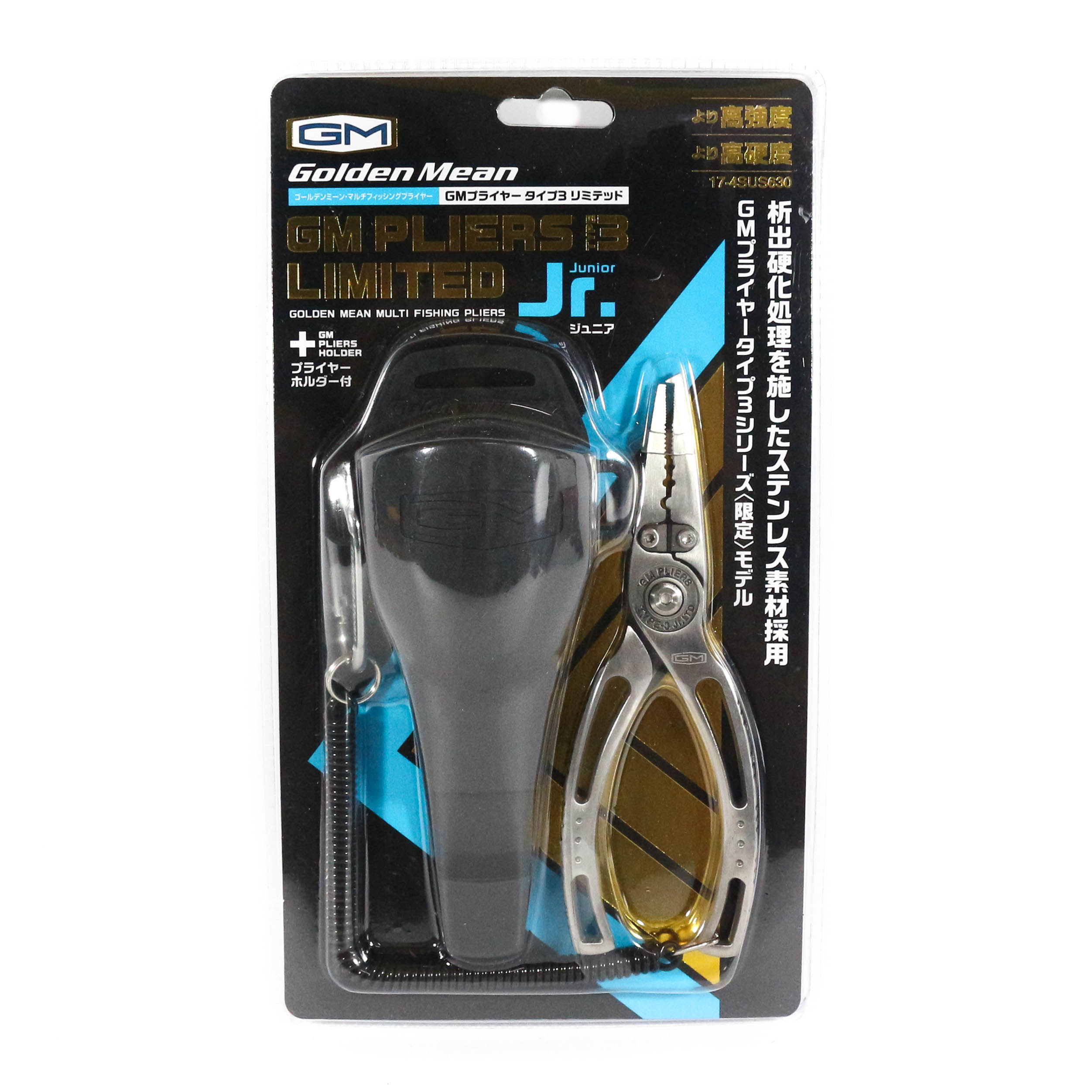 Golden Mean Fishing Pliers and Holder Type 3 Limited JR (4347)
