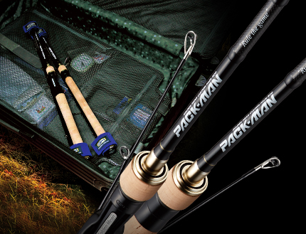 Golden Mean Rod Casting Pack Man PMC-610M 4 piece Travel Rod (4675)