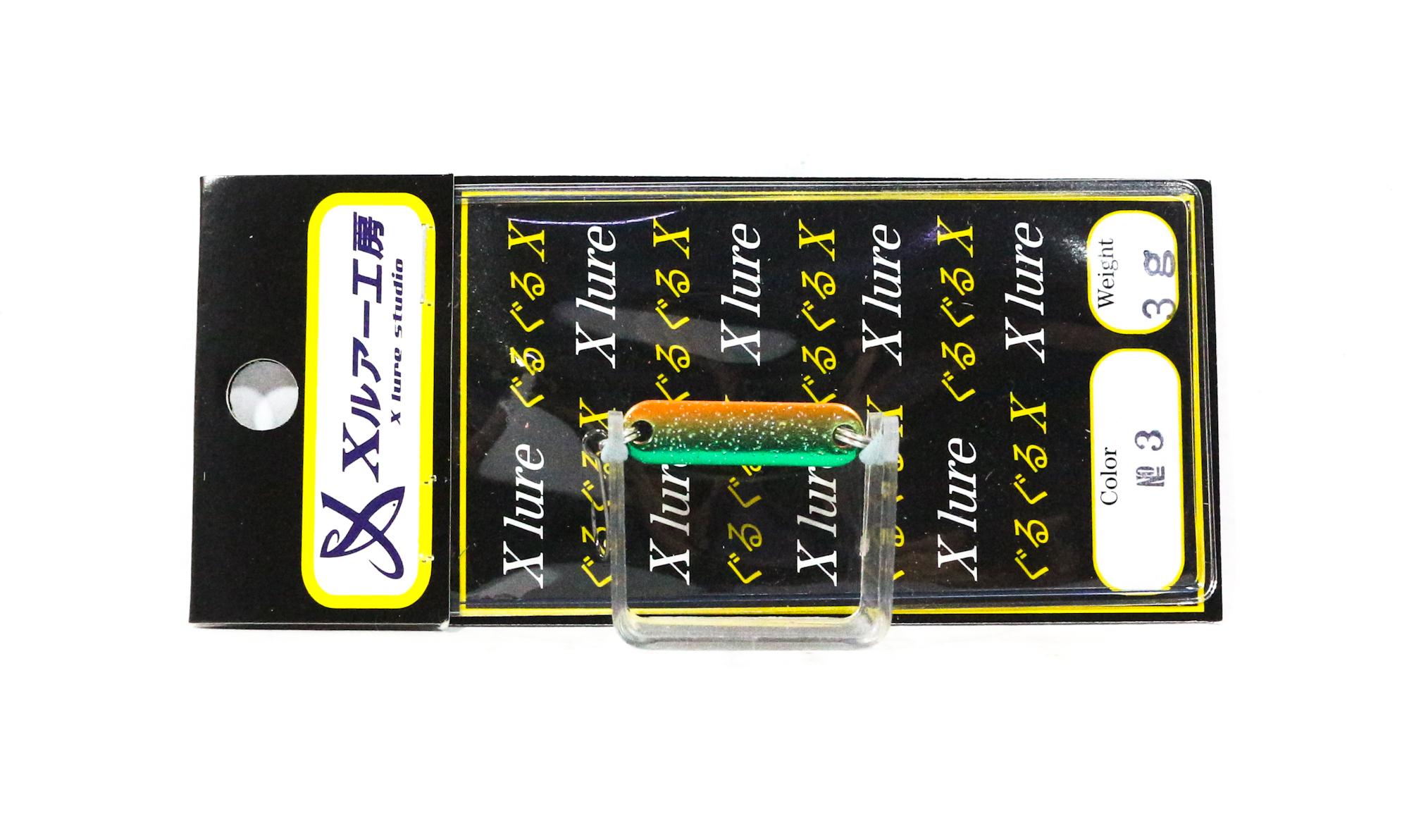 Guru Guru X Lure Trout Spoon 3 grams 26 mm No3.G (8299)