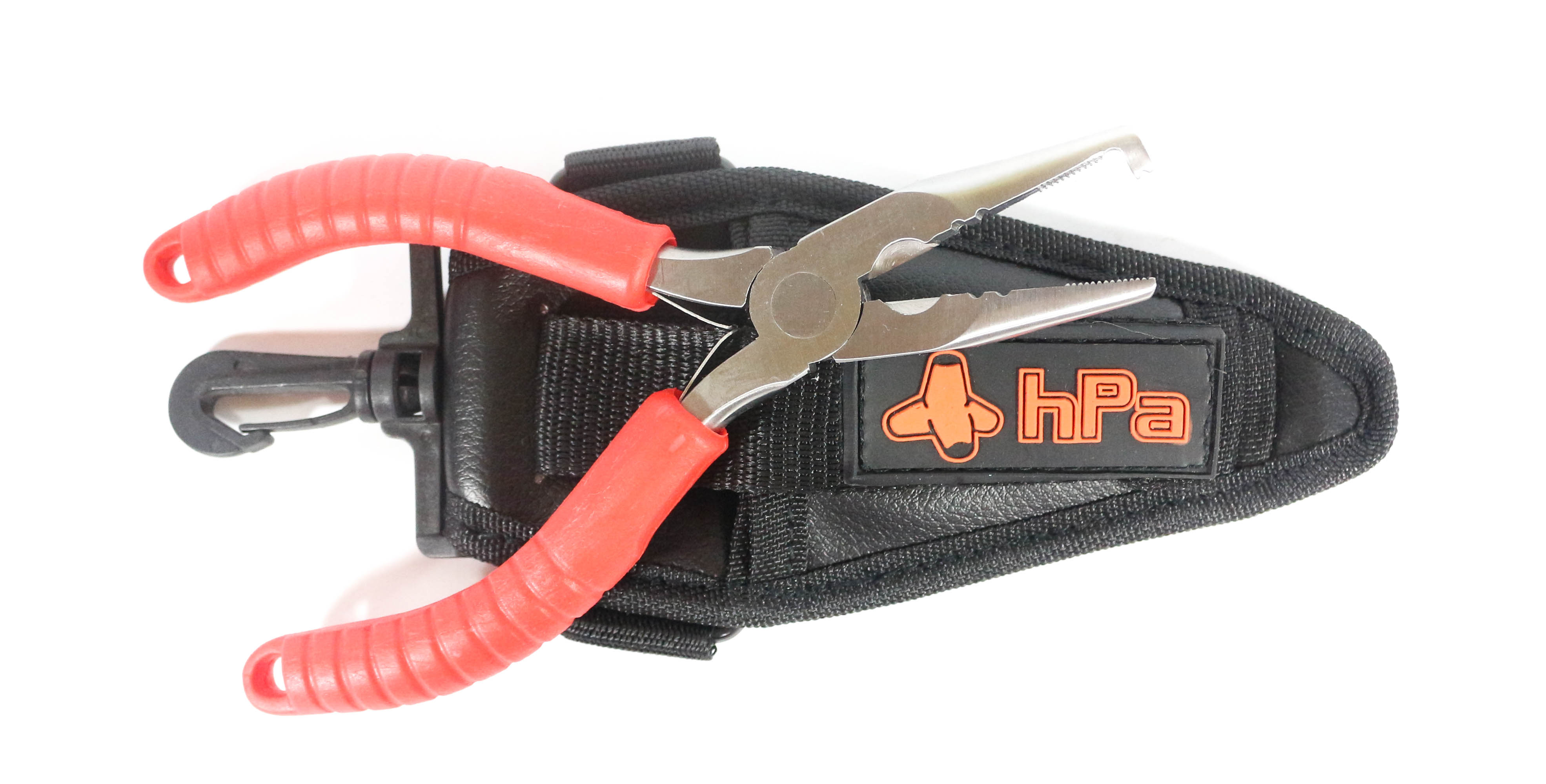 HPA Pliers Split Ring GT Big Game Size 5 - 12 Rings Holster Black (0189)