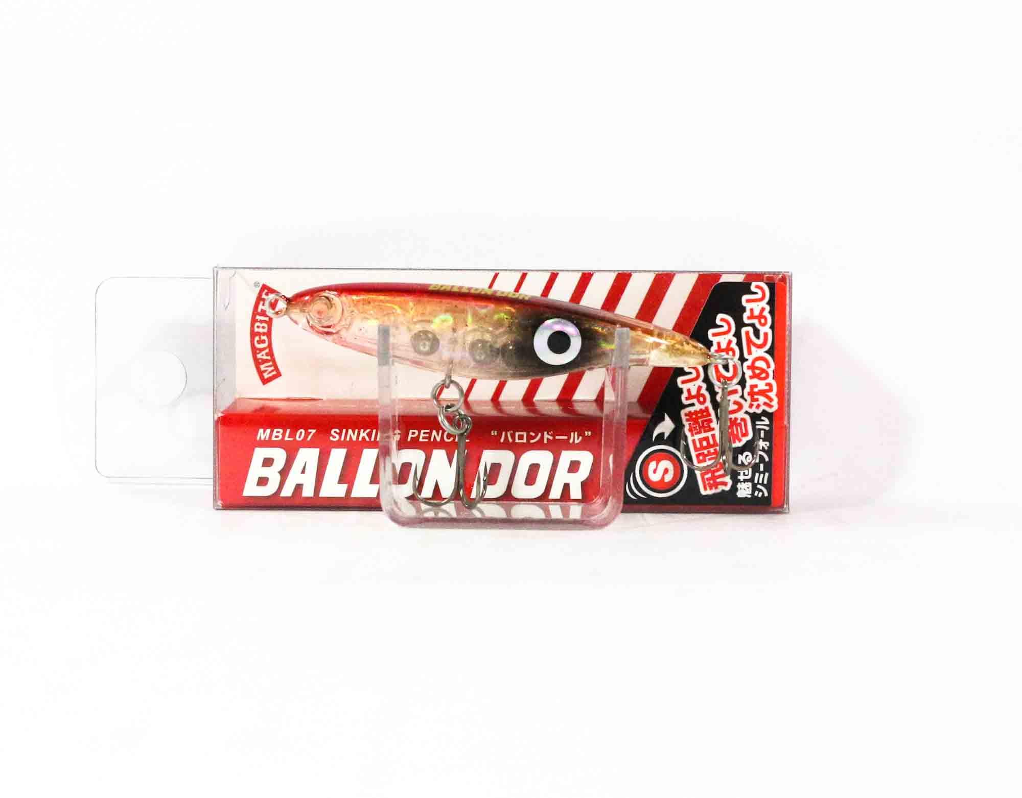 Harimitsu Mag Bite Ballon Dor Sinking Pencil Lure 4 grams (6089)