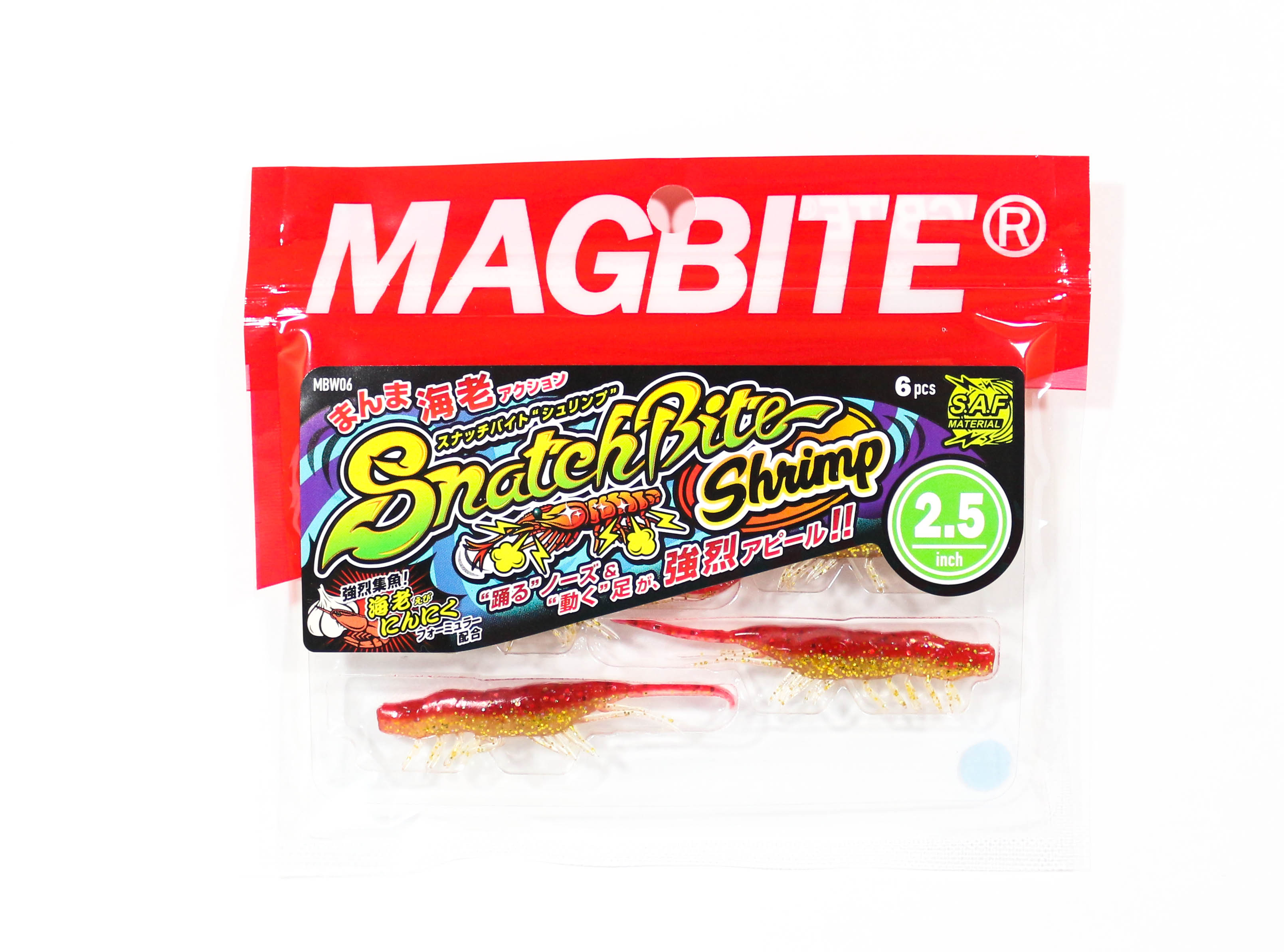 Harimitsu Mag Bite Snatch Shrimp 2.5 Inch 6 per pack 01 (6492)