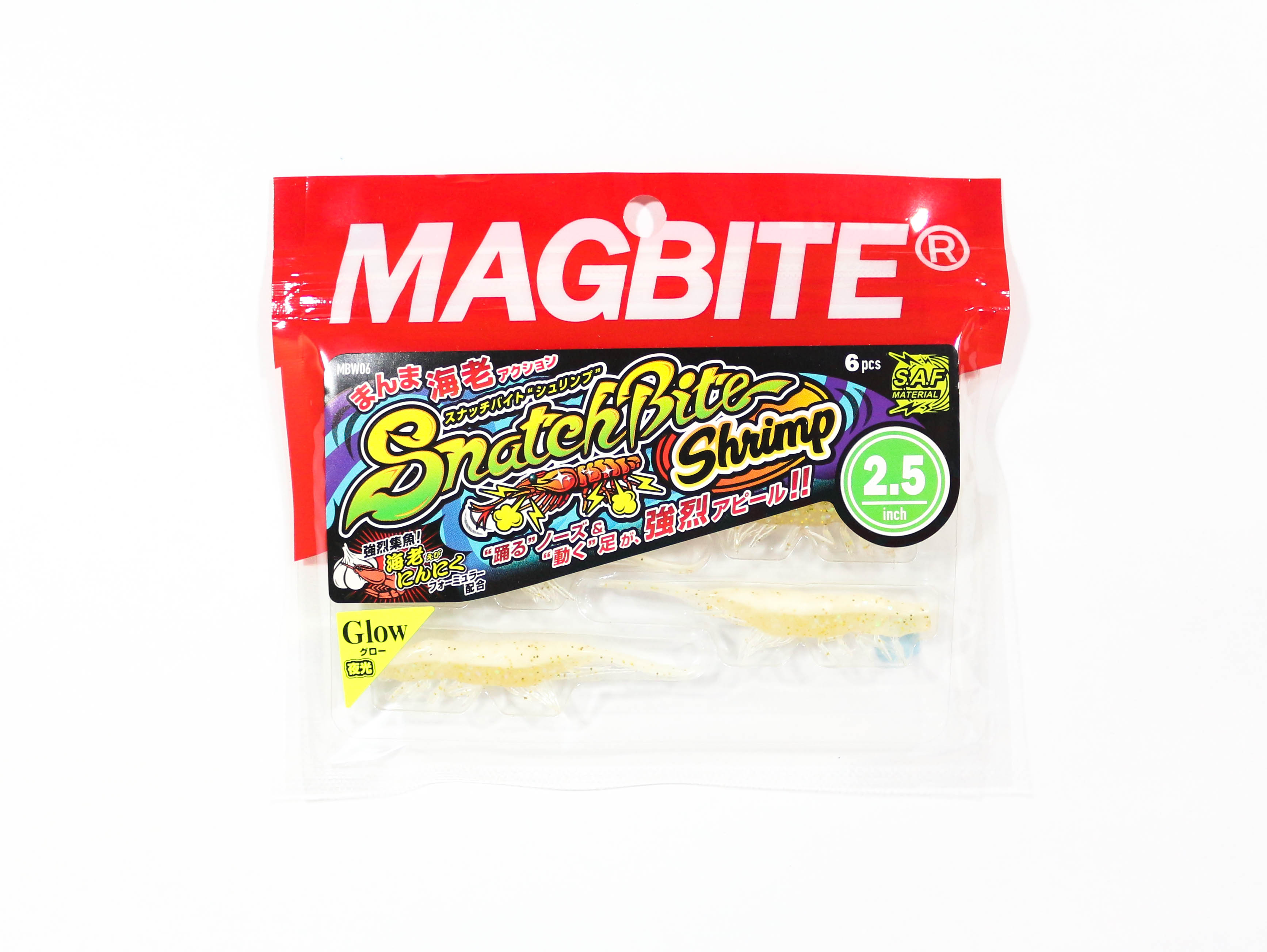 Harimitsu Mag Bite Snatch Shrimp 2.5 Inch 6 per pack 03 (6515)