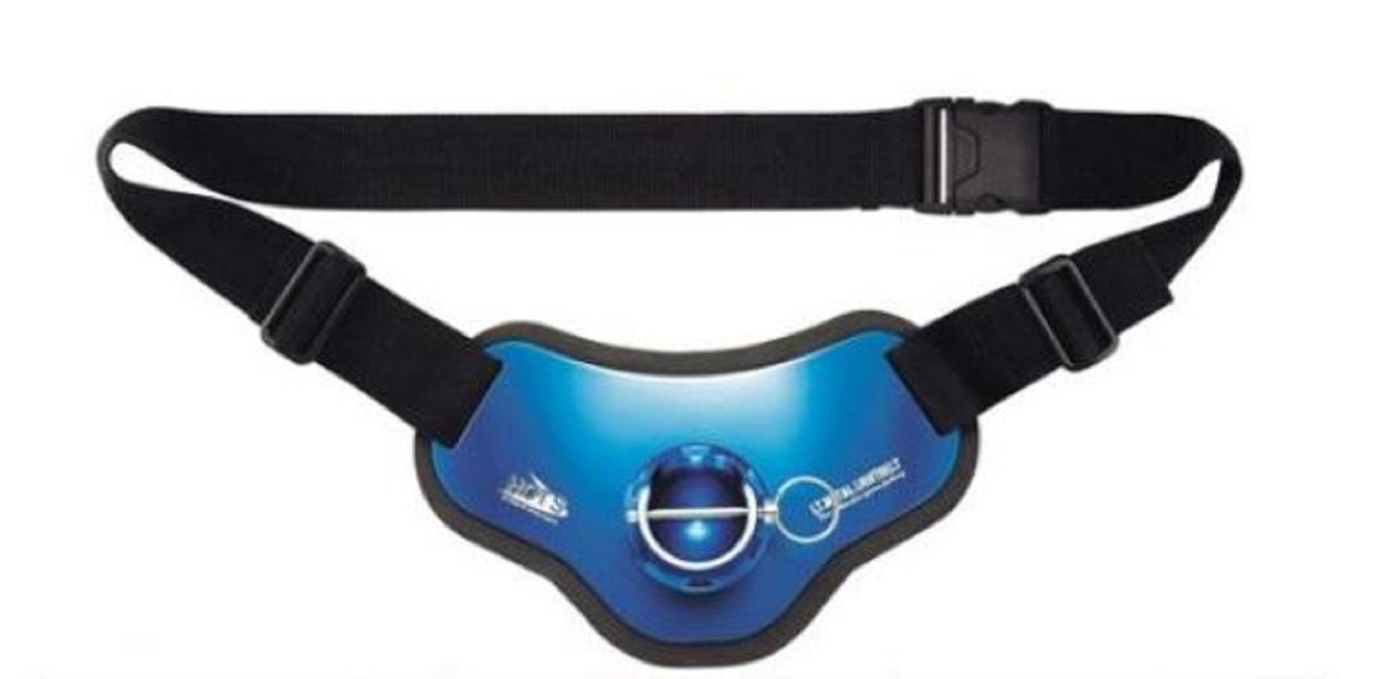 Hots Fighting Belt Light Weight Aluminium Gimbal Belt Blue (4526)