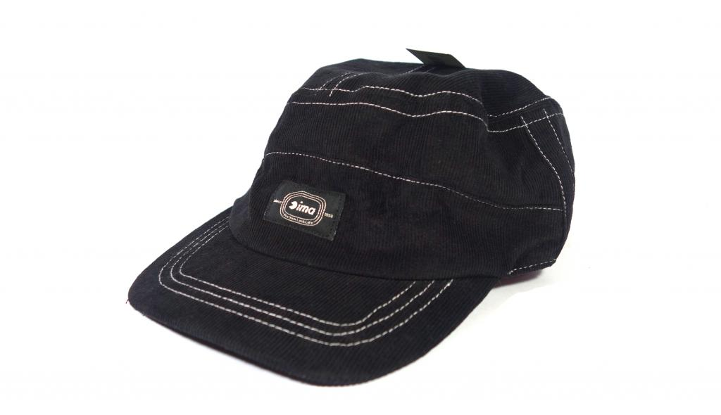 Ima Cap Corduroy Work Cap Original Japan Free Size Black (8948)