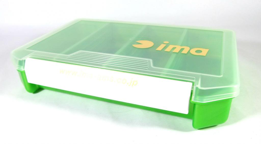 Ima 3010 Tackle Lure Box Case Original 205 x 145 x 40 mm Green (2885)