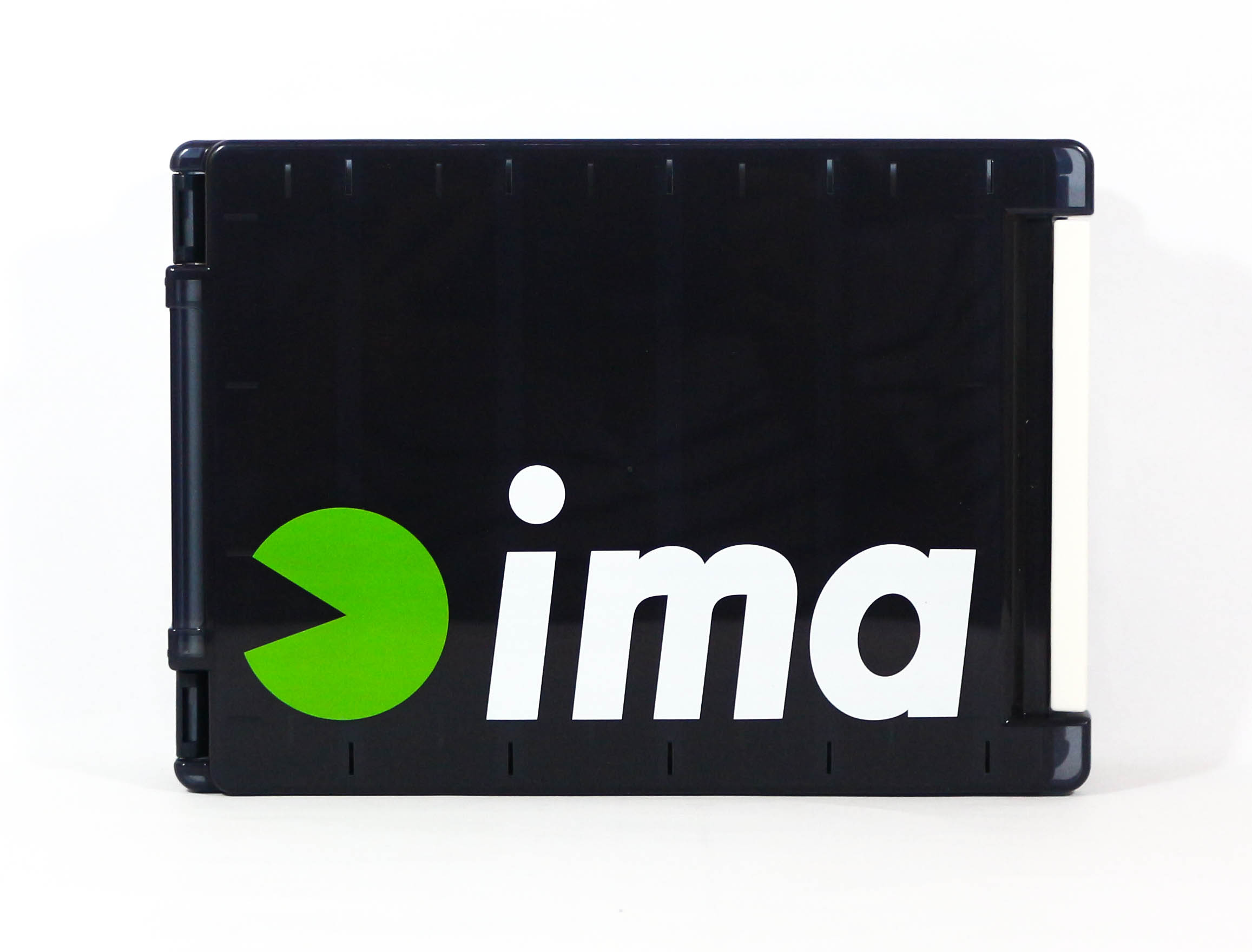 Ima Meiho Tackle Box Reversible 140 205 x 140 x 40 mm Black (2888)