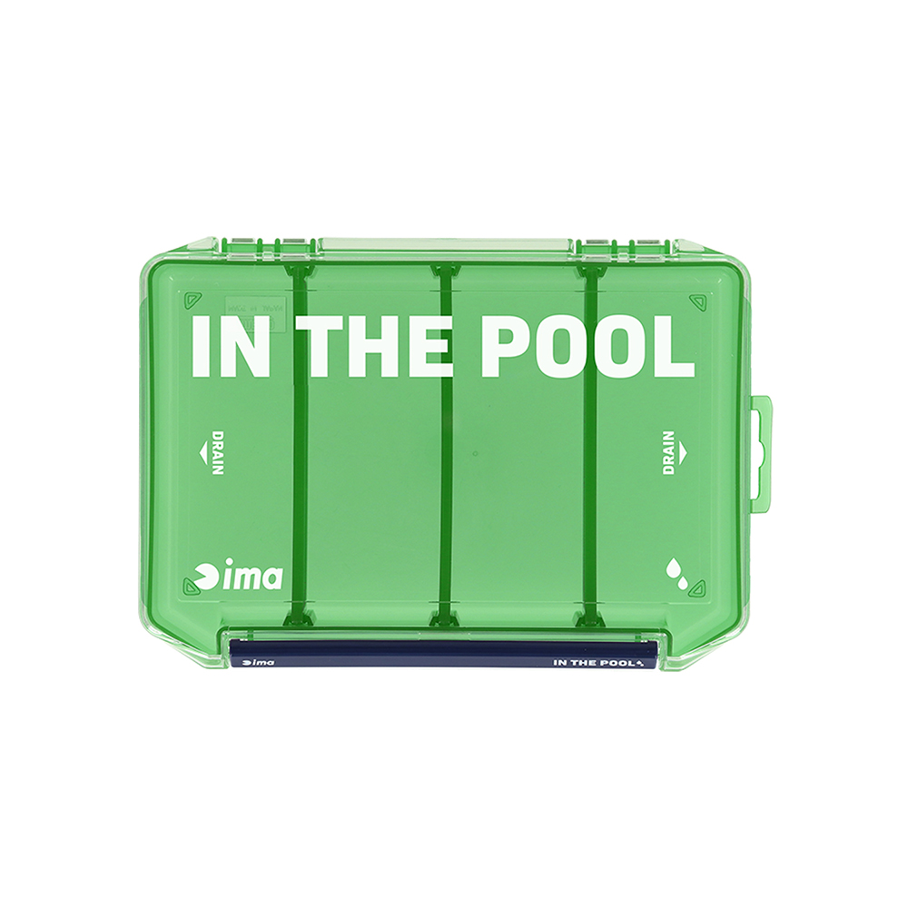 Ima Meiho Tackle Box VW 2010NSM ( 210 x 145 x 28 mm ) Green (1941)
