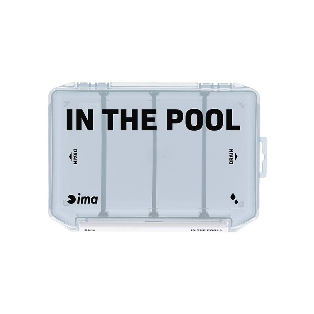 Ima Meiho Tackle Box VW 2010NSM ( 210 x 145 x 28 mm ) Blue (1958)
