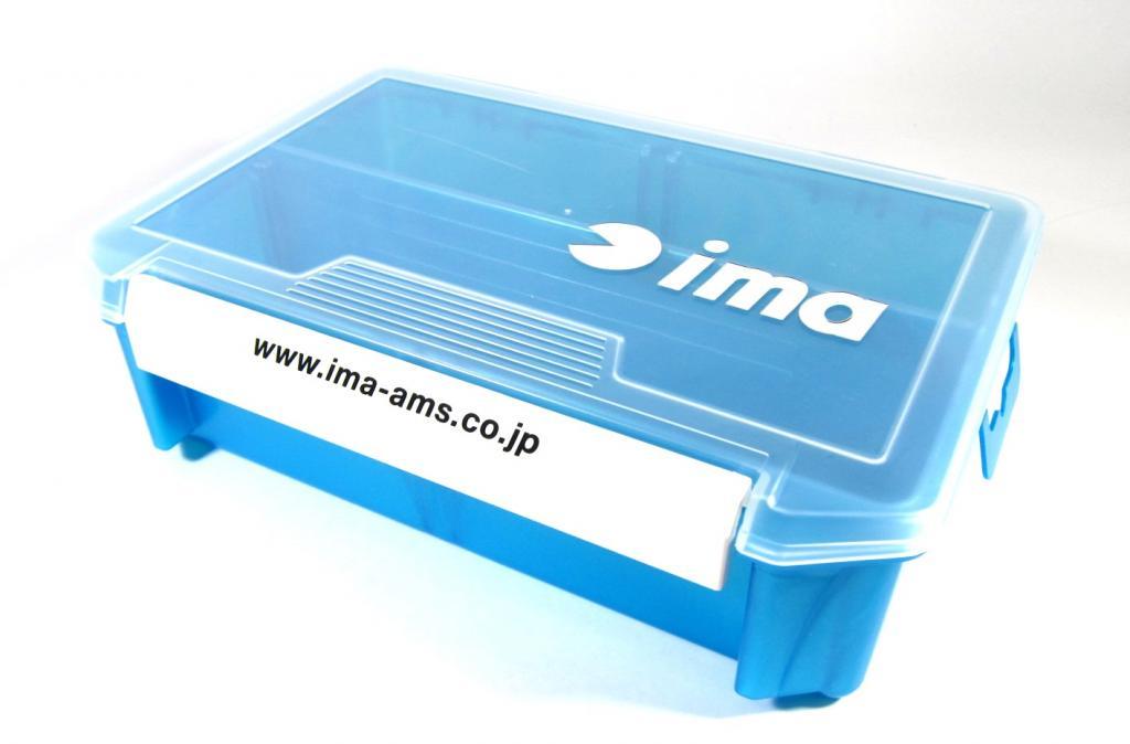 Ima 3010 NDDM Tackle Lure Box Case Original 205 x 145 x 60 mm Blue (8146)