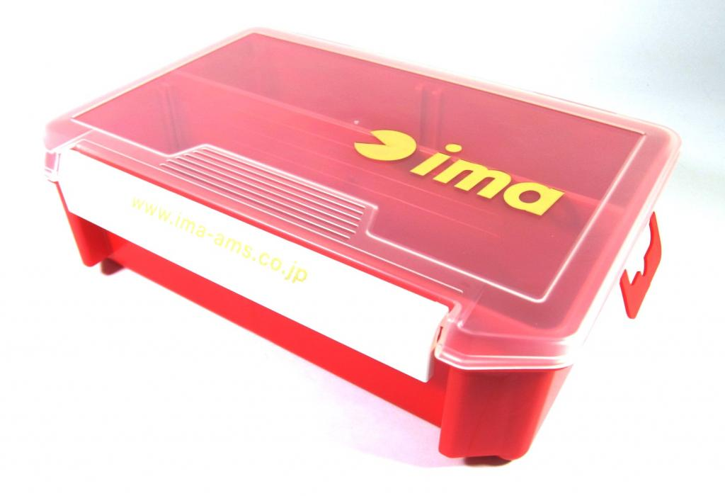 Ima 3010 NDDM Tackle Lure Box Case Original 205 x 145 x 60 mm Red (8177)