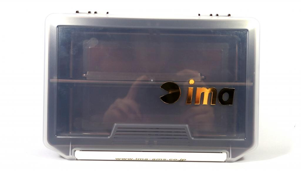Ima 3010 NDDM Tackle Lure Box Case Original 205 x 145 x 60 mm Brown (8443)