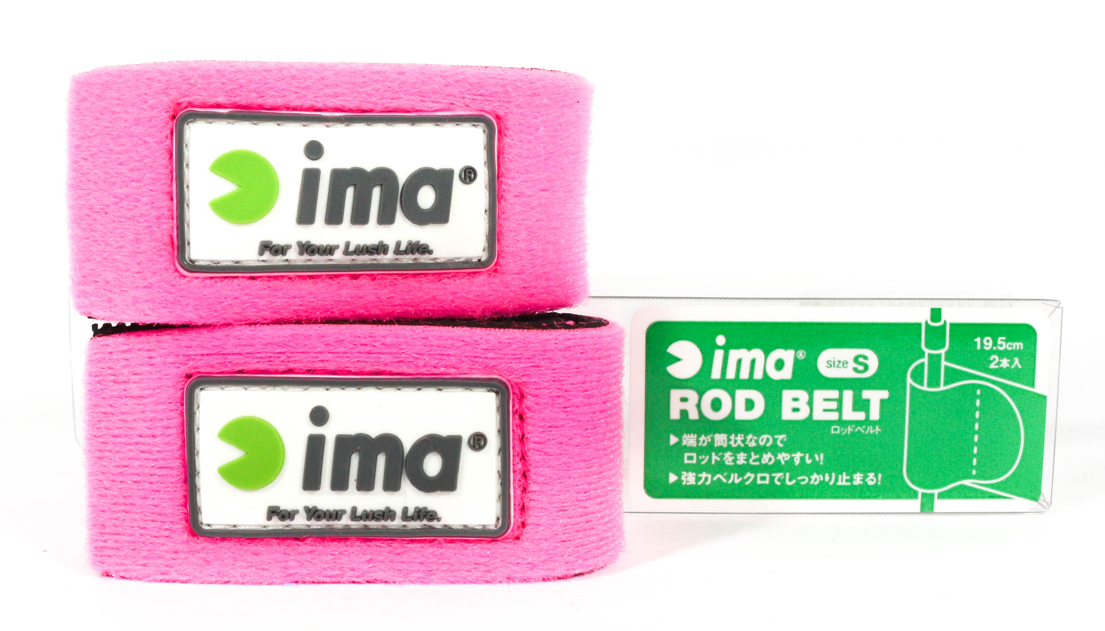 Sale Ima Rod Belt Strap Size S 2 Piece Pack Pink (2560)