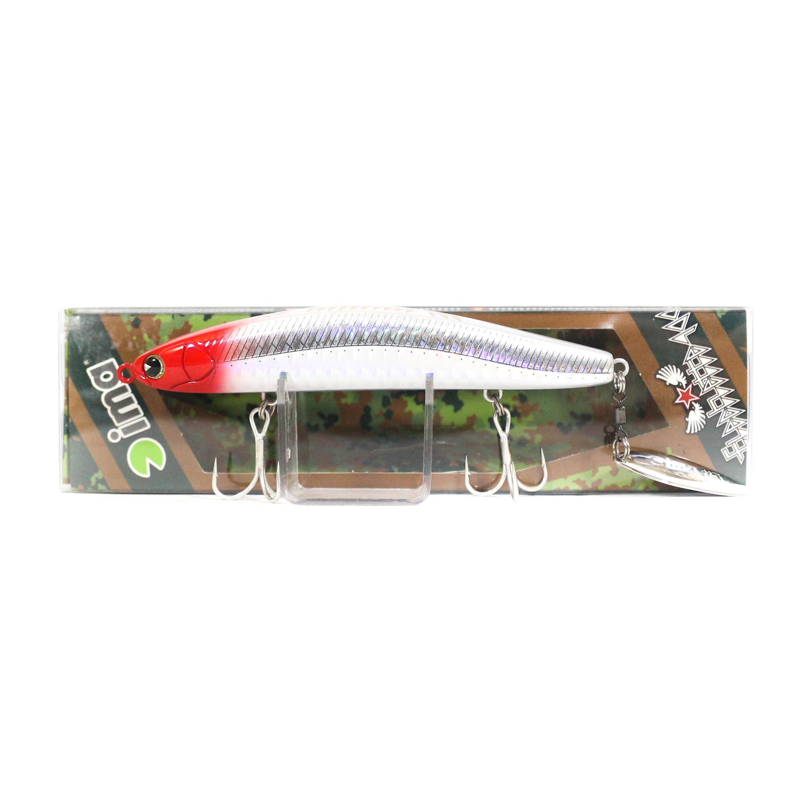 Sale Ima Flechette 100 Sinking Vibe Tail Lure 001 (1001)