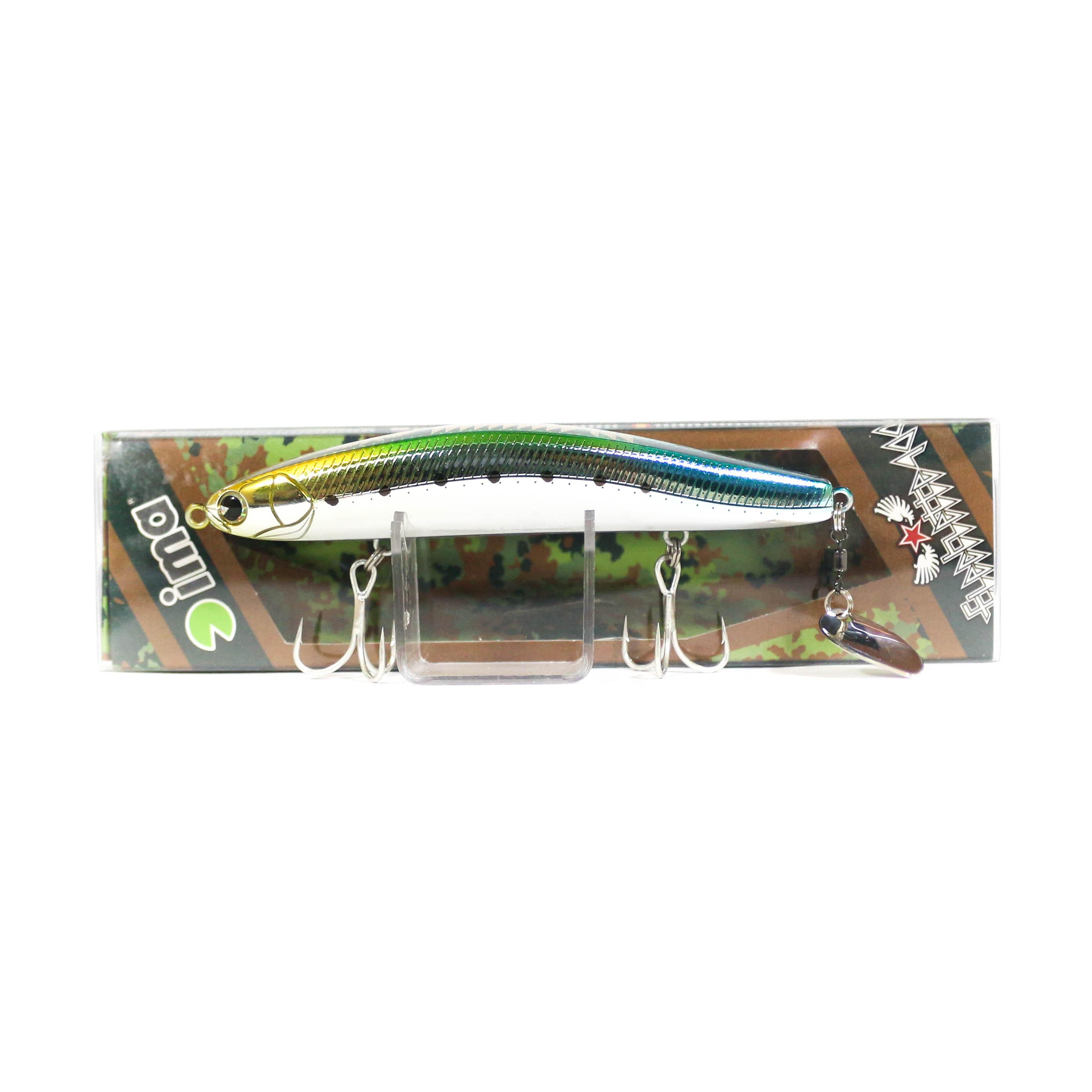 Sale Ima Flechette 100 Sinking Vibe Tail Lure 007 (1063)