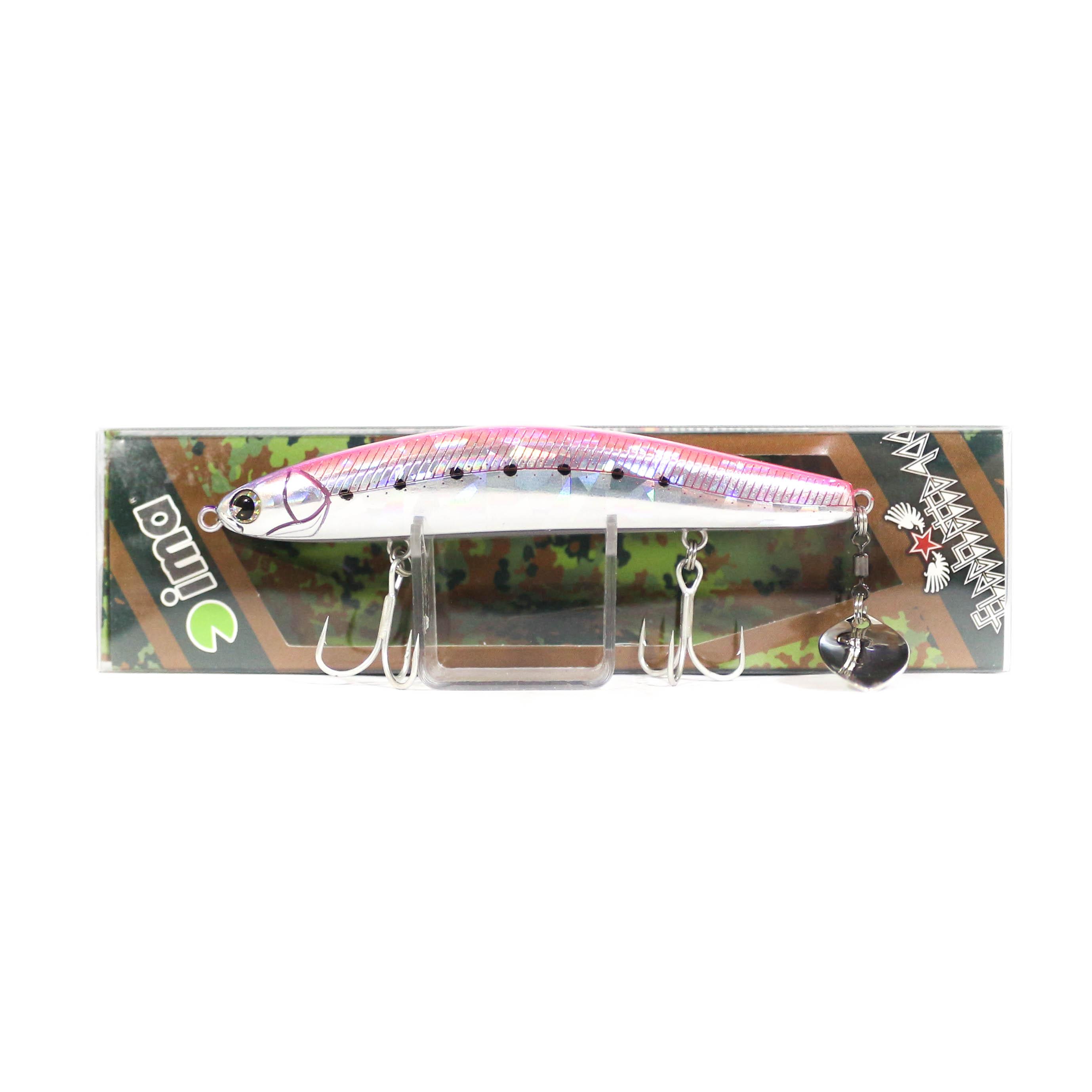 Sale Ima Flechette 100 Sinking Vibe Tail Lure 008 (1070)