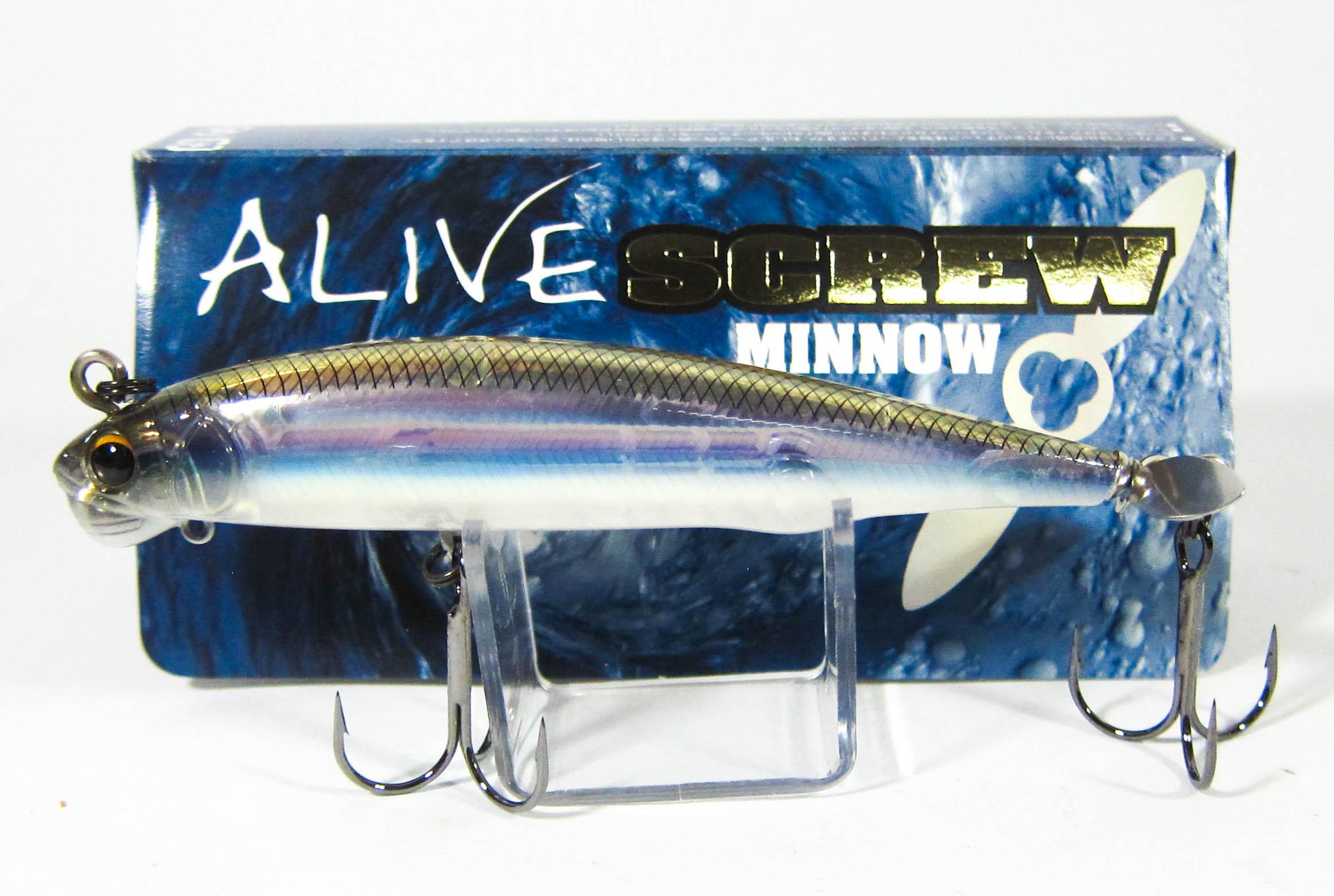 Imakatsu Alive Screw Minnow 90 Sinking Lure 201 (2926)