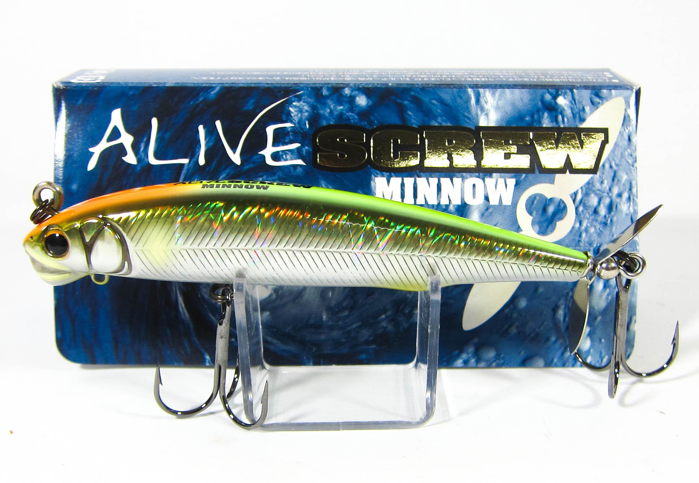 Imakatsu Alive Screw Minnow 90 Sinking Lure 127 (2957)