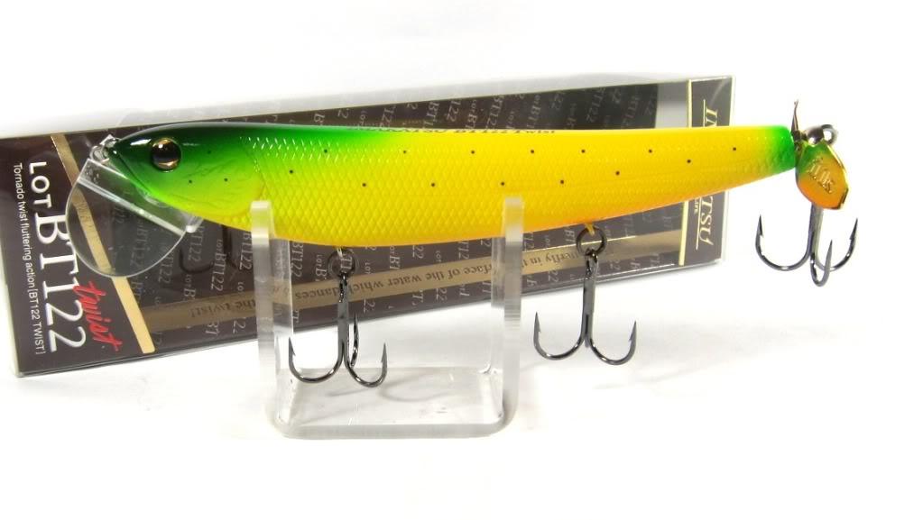 Imakatsu BT 122 Lot Twist Floating Lure 50 (3365)