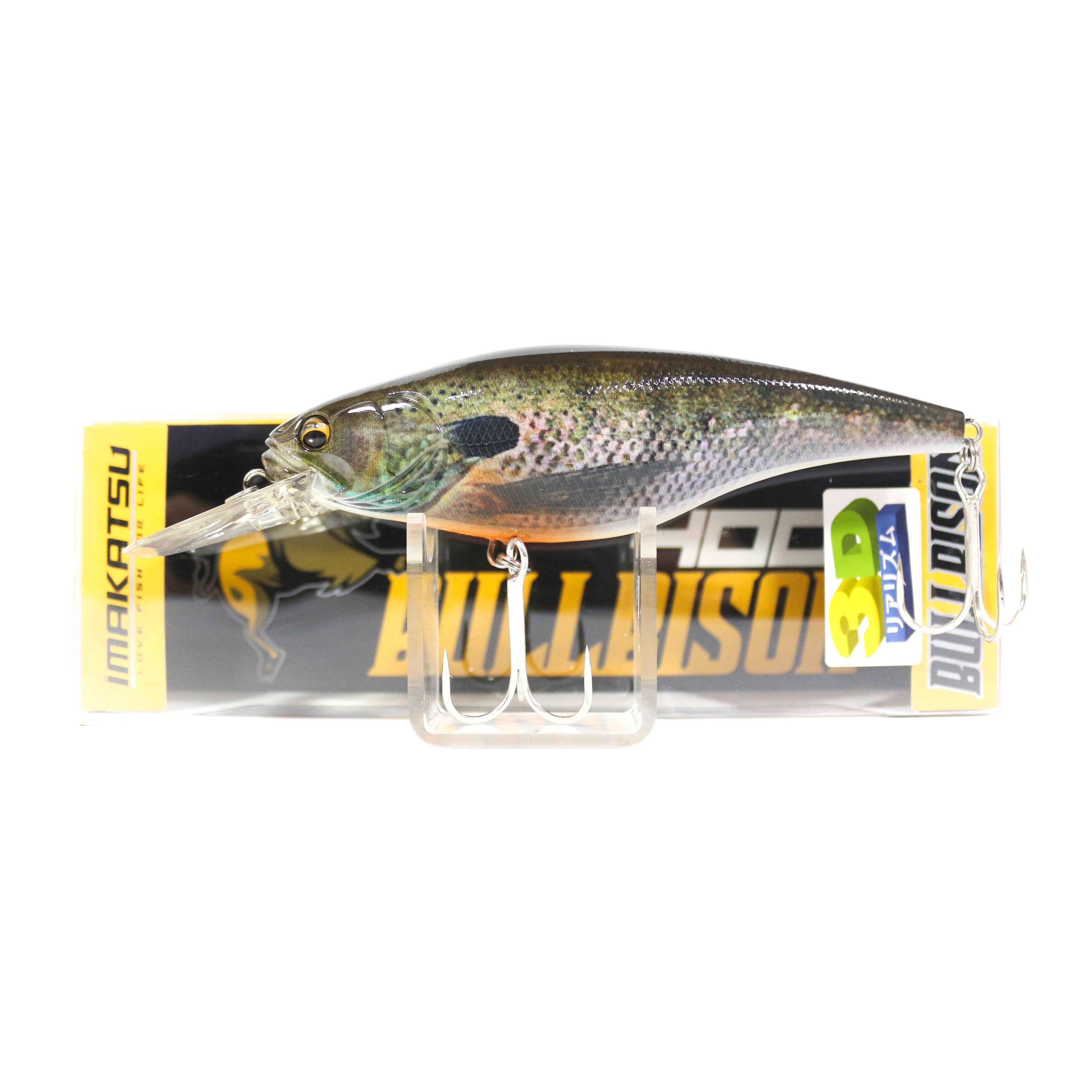 Imakatsu Bullbison 400 3D Realism Crank Bait Floating Lure 598 (5314)