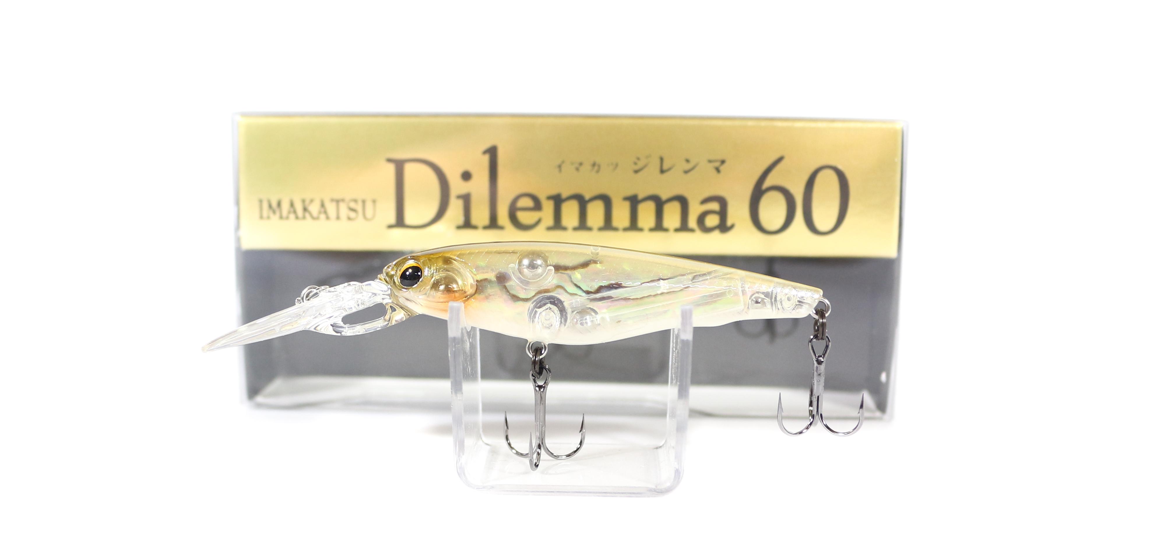 Imakatsu Dilemma 60 Abalone Shad Suspend Lure 422 (3212)