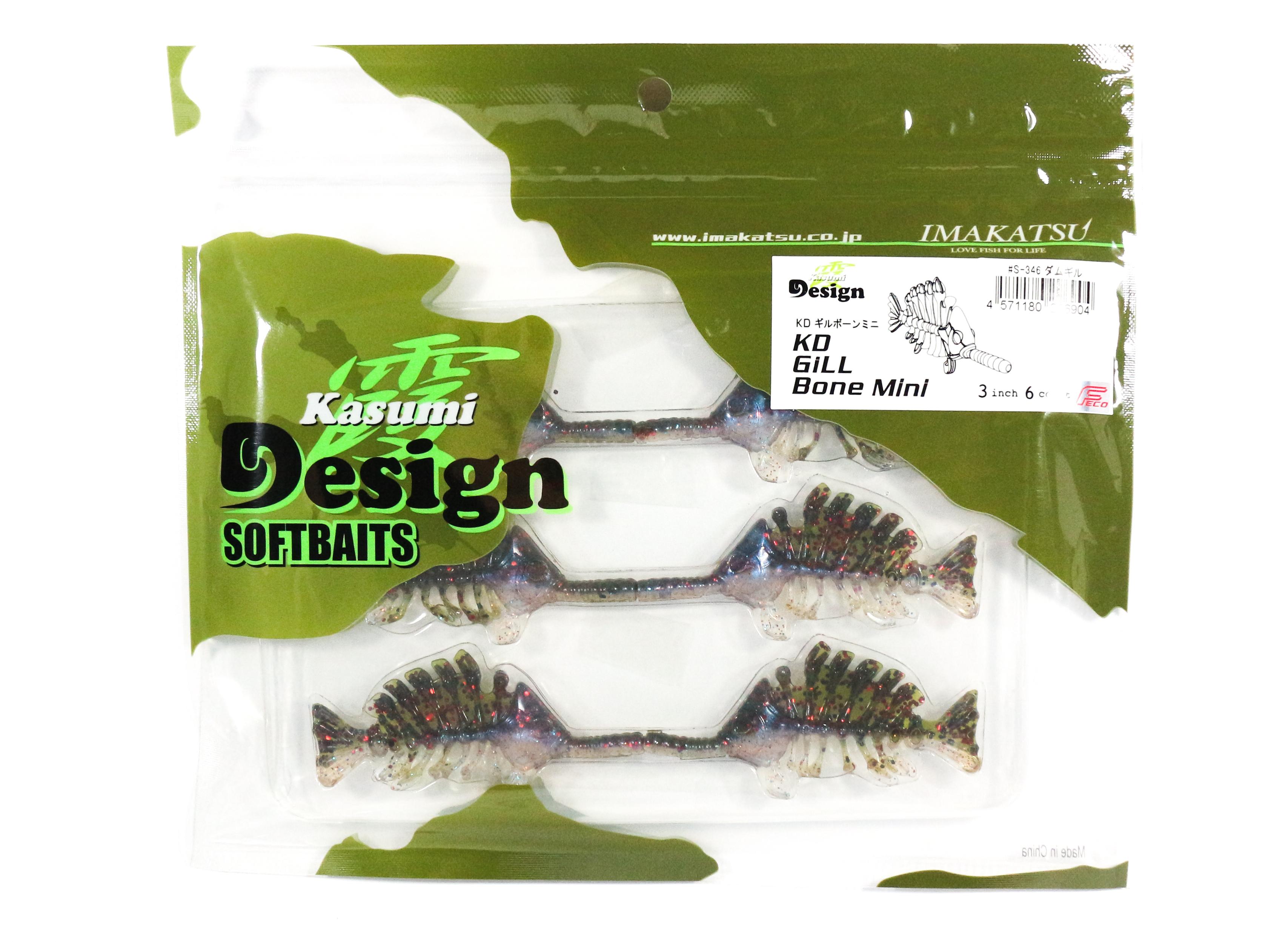 Sale Imakatsu Soft Lure Gill Bone Mini 3 Inches S-346 (6904)