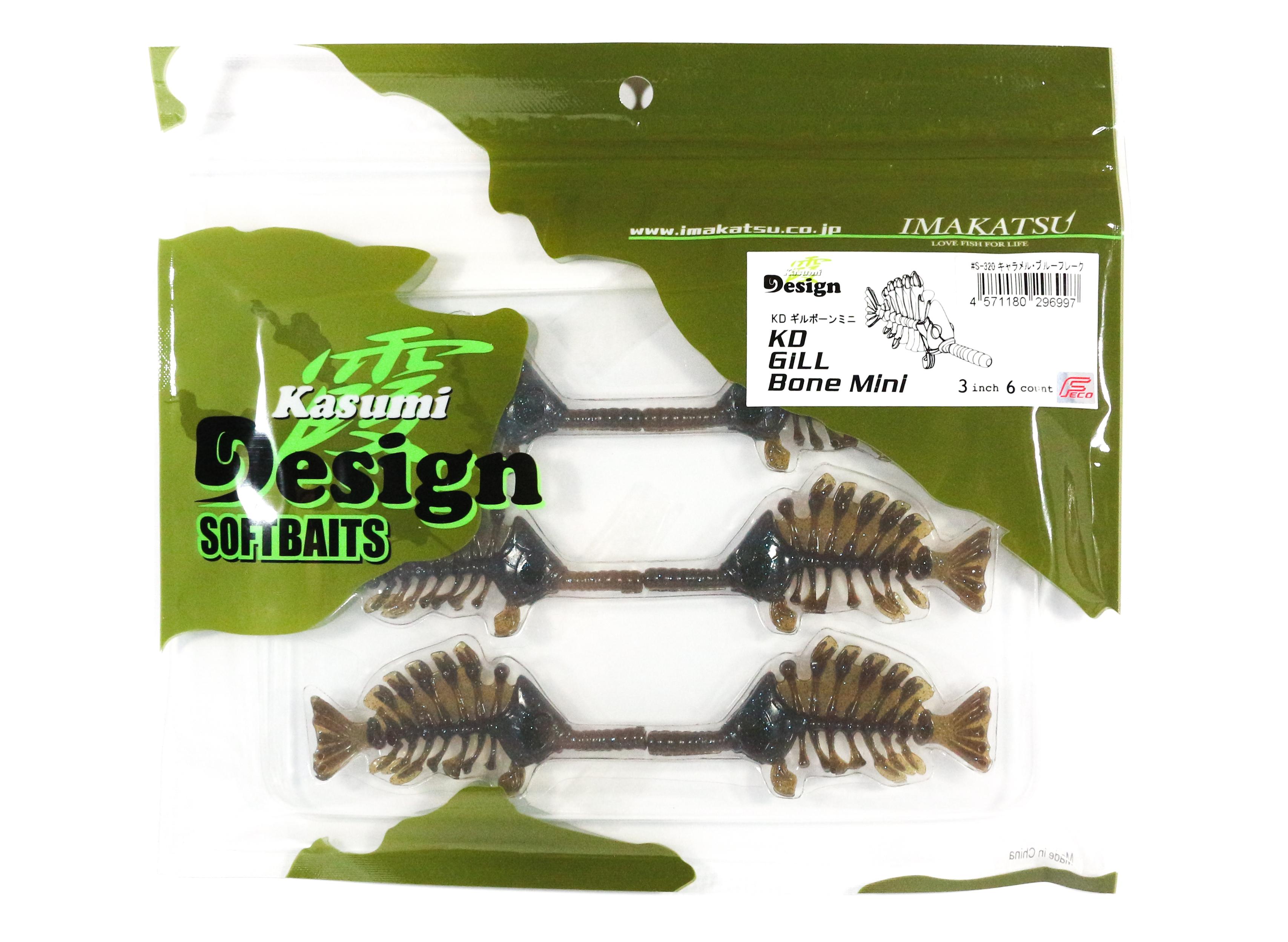 Sale Imakatsu Soft Lure Gill Bone Mini 3 Inches S-320 (6997)