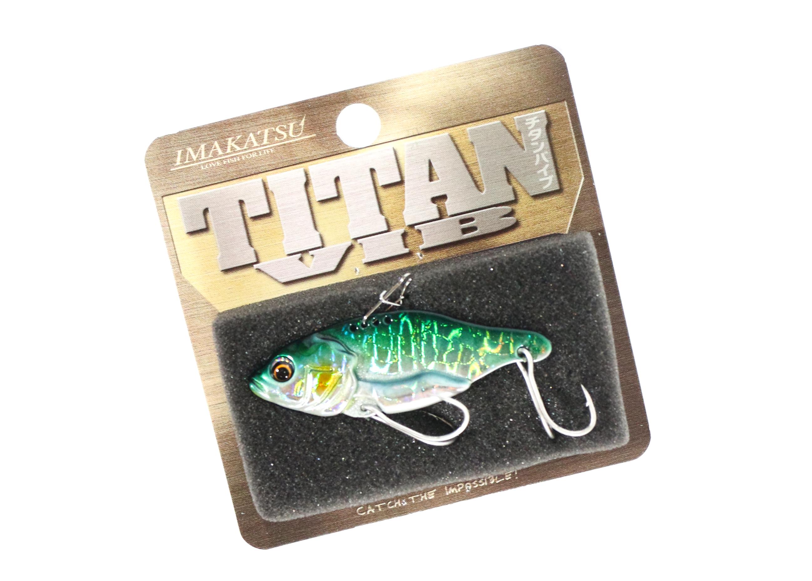 Sale Imakatsu Titan Vib Metal Vibration 3/8 oz Sinking Lure MV-12 (4844)