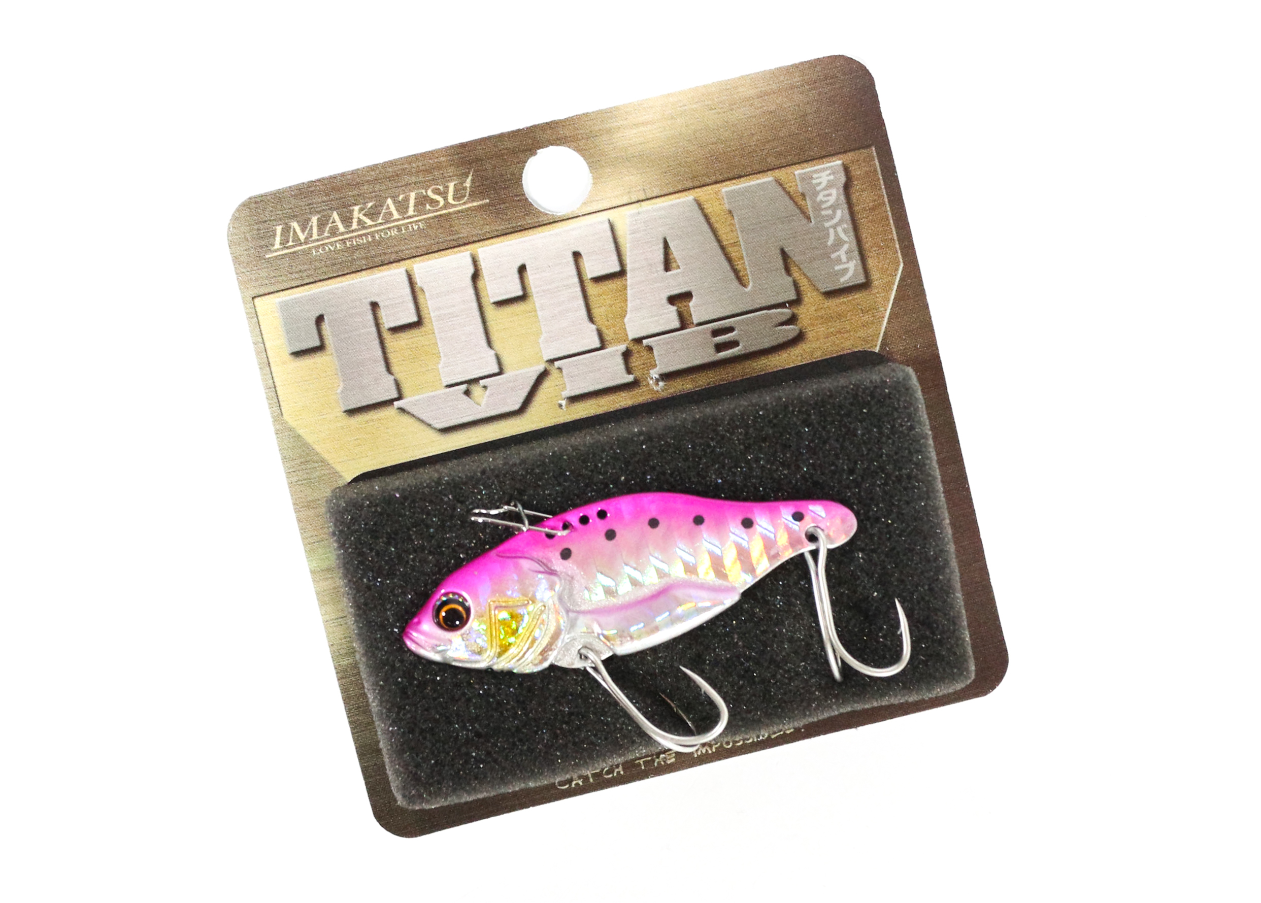 Sale Imakatsu Titan Vib Metal Vibration 3/8 oz Sinking Lure MV-26 (4899)