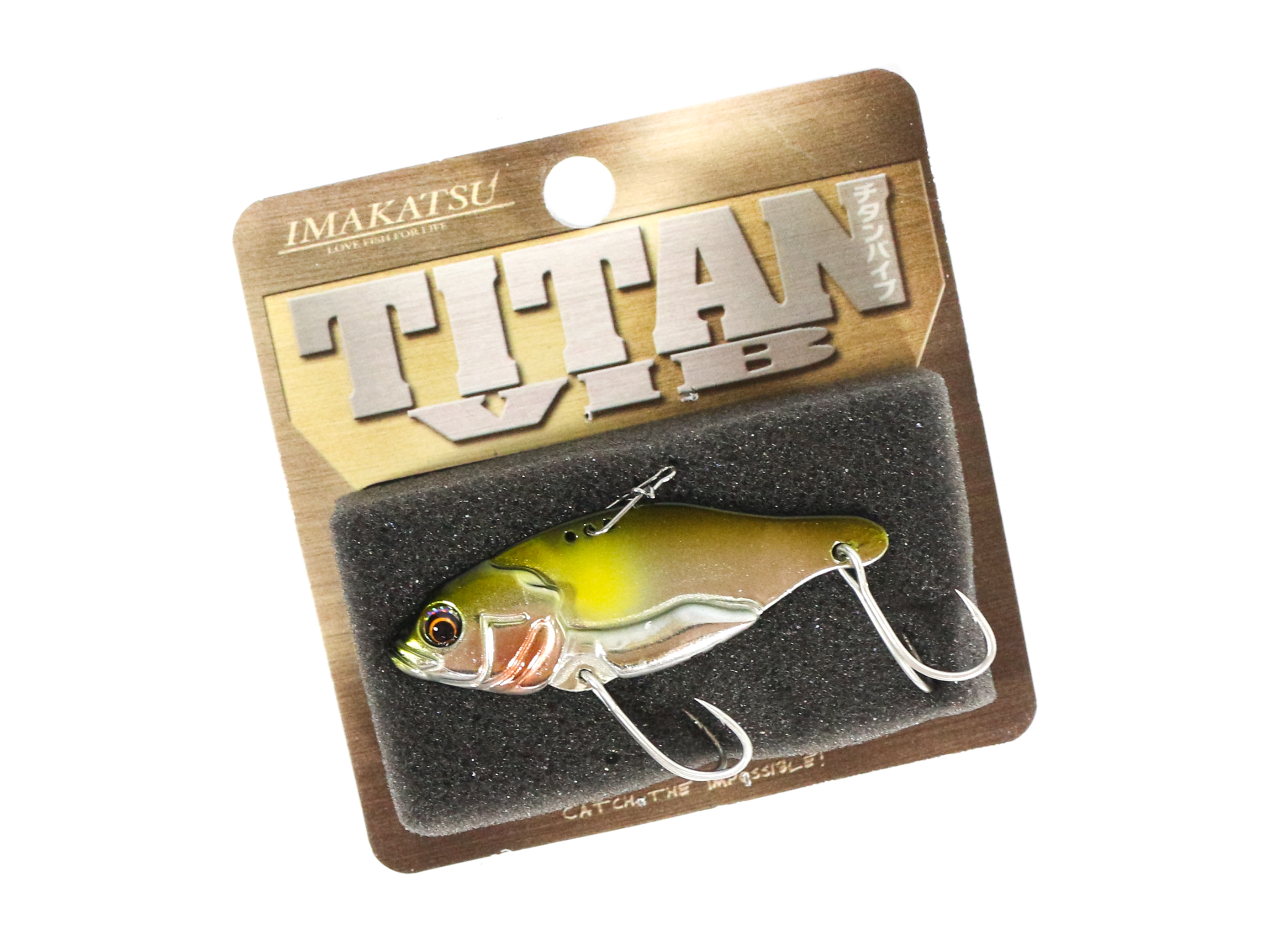 Sale Imakatsu Titan Vib Metal Vibration 9 grams Sinking Lure MV-03 (5179)