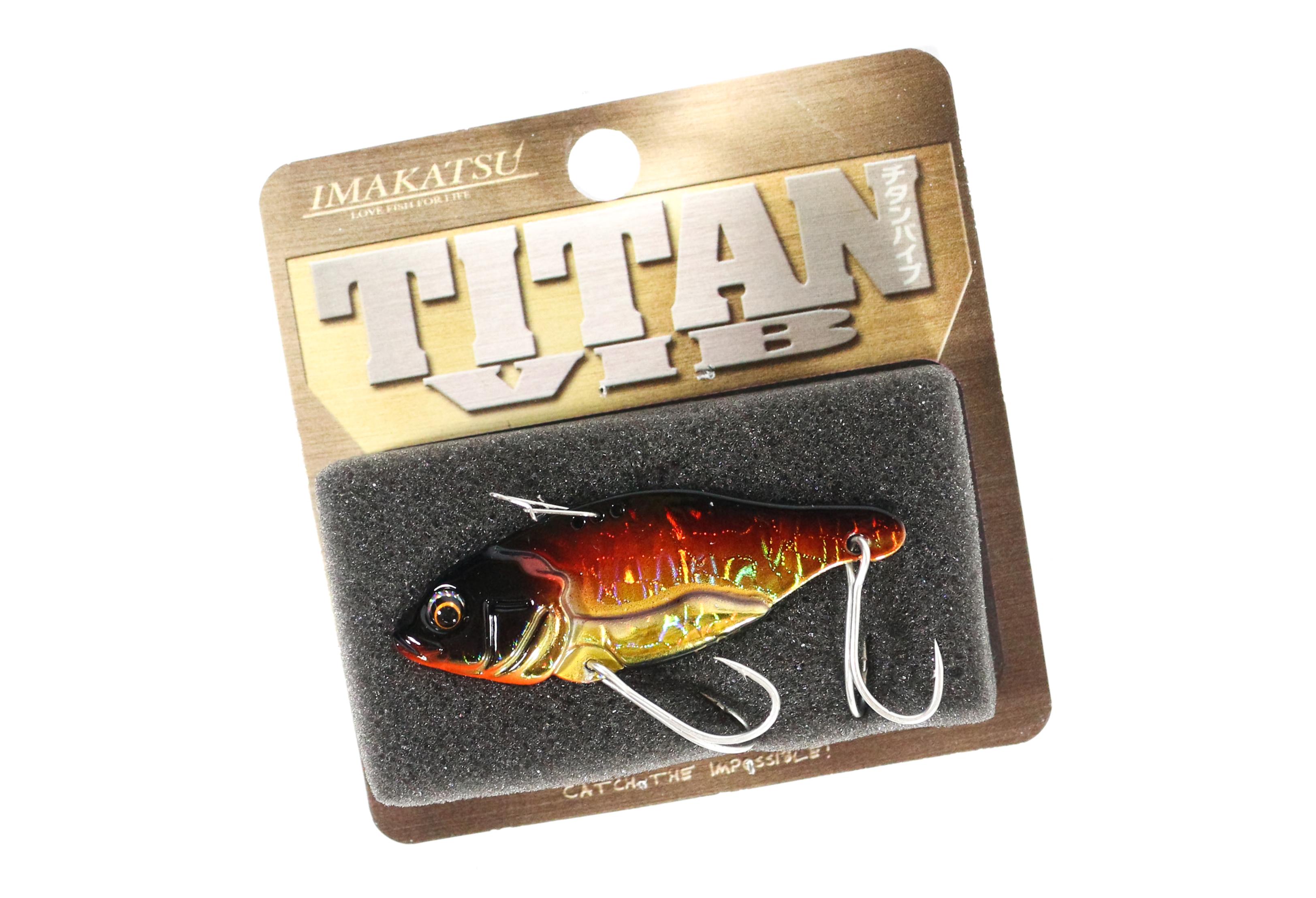 Sale Imakatsu Titan Vib Metal Vibration 9 grams Sinking Lure MV-15 (5223)