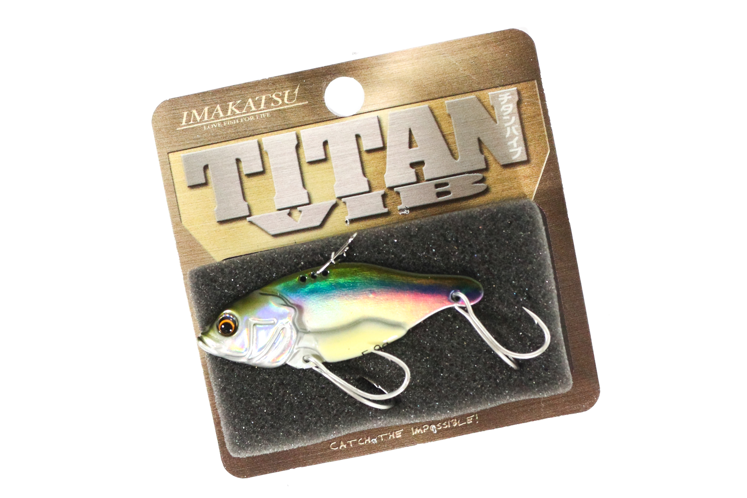 Sale Imakatsu Titan Vib Metal Vibration 9 grams Sinking Lure MV-21 (5254)