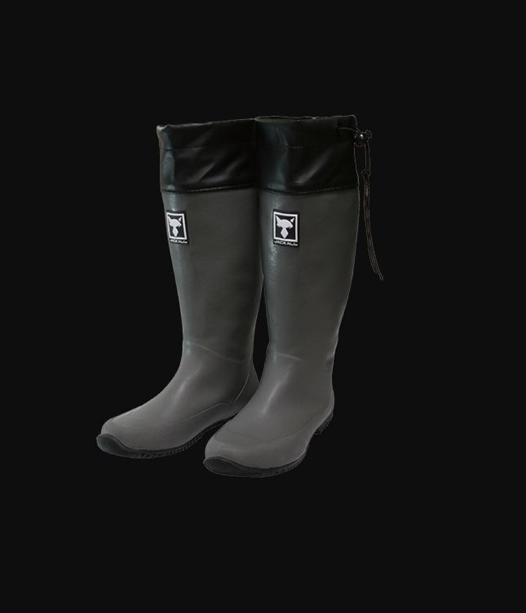 Jackall Packable Boots Foldable Gray Size L 260-265 (2149)