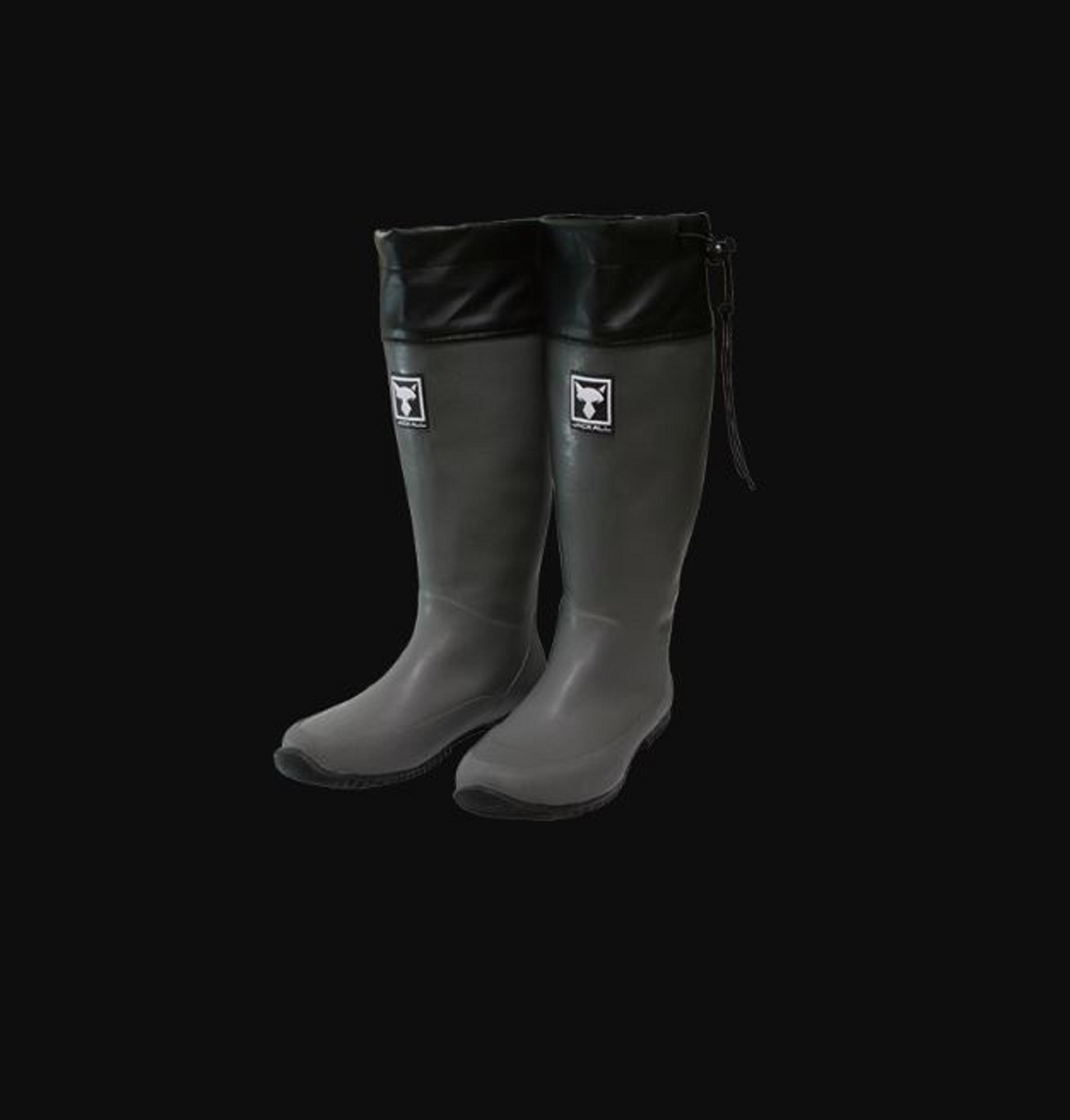 Jackall Packable Boots Foldable Gray Size XL 270-275 (2187)