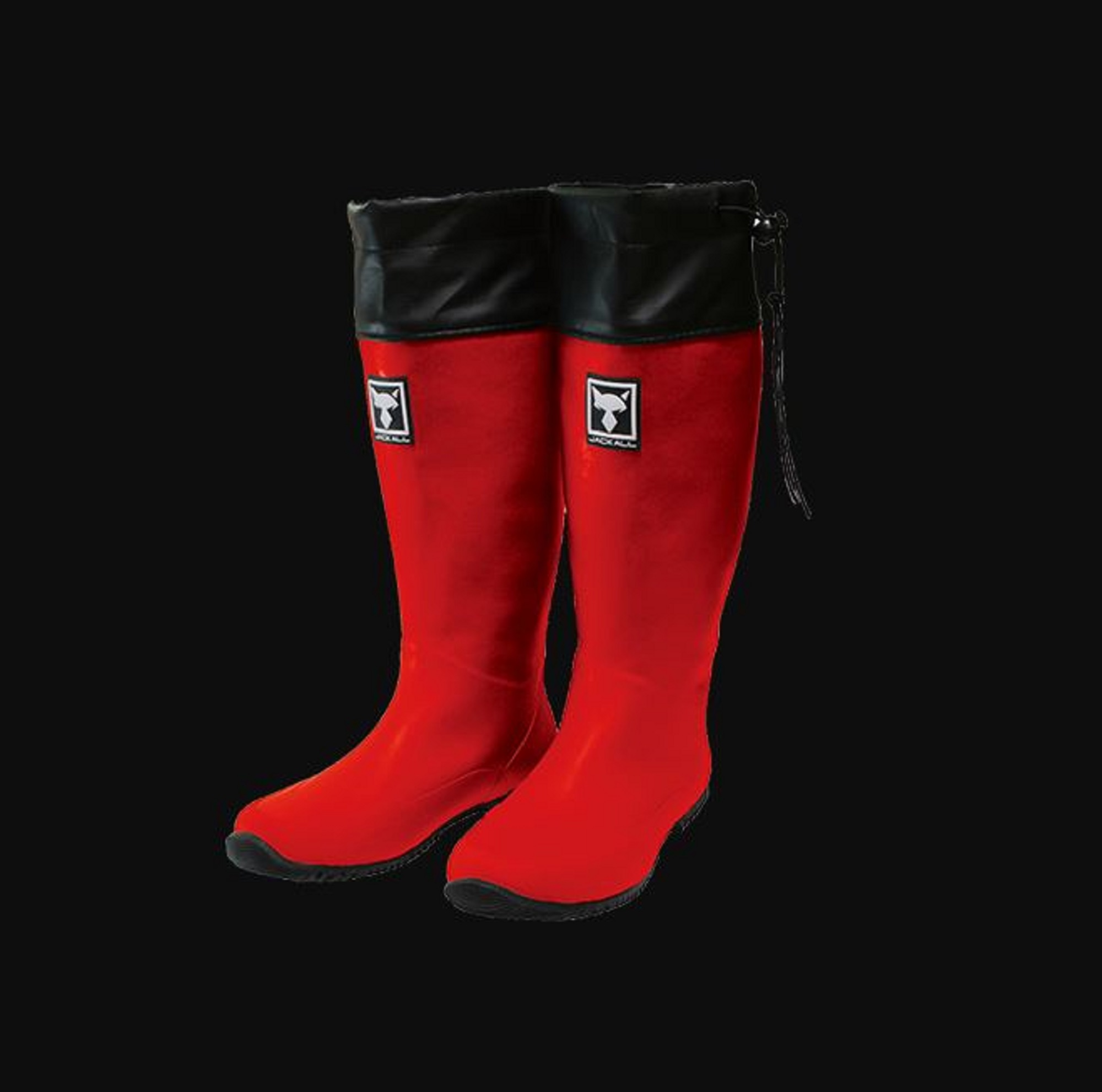 Jackall Packable Boots Foldable Red Size XXL 280-285 (2248)