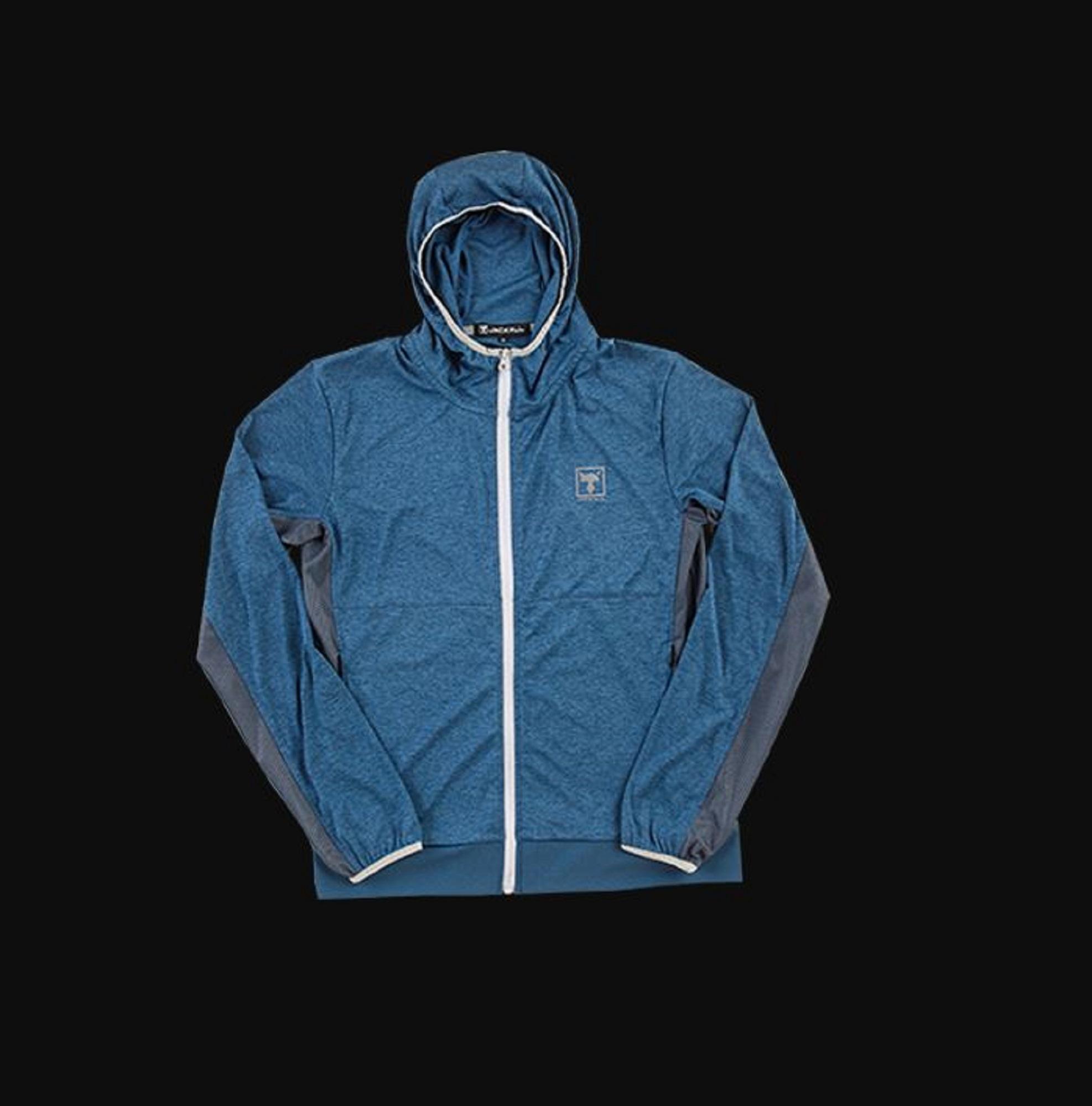 Jackall Light Hoodie Original Merchandise Size L Blue (8843)