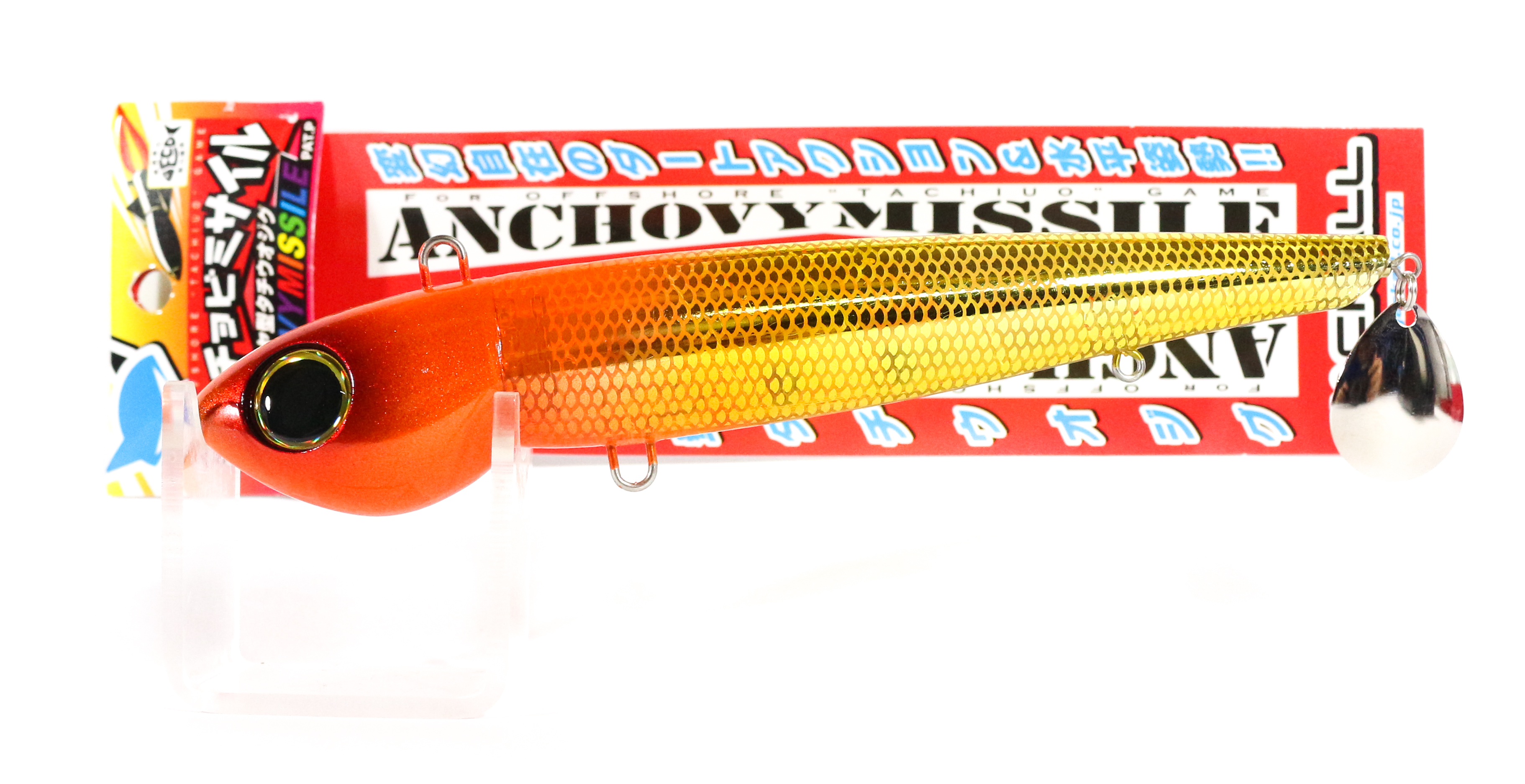 Jackall Anchovy Missile RattleShiki Jig Lure 190 grams Orange Gold (5375)